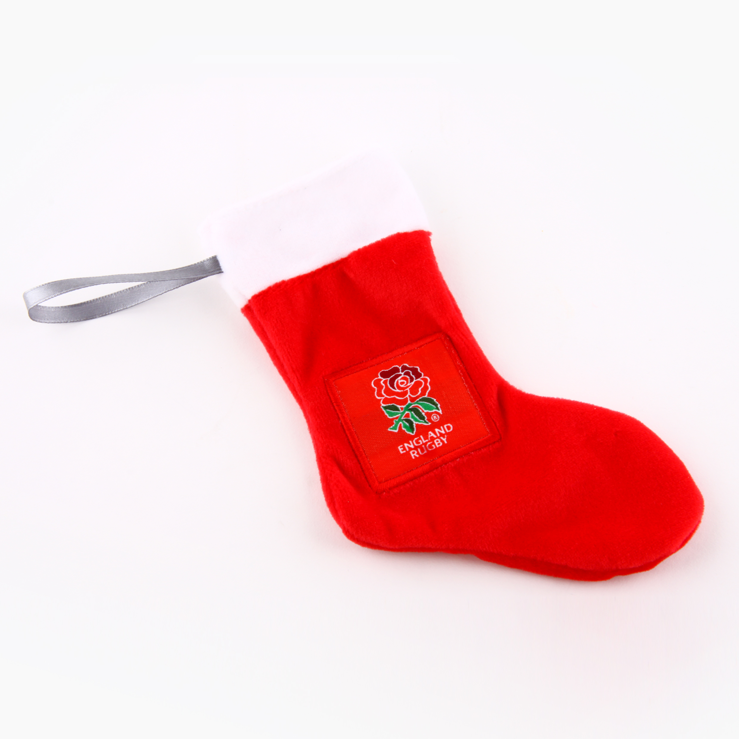 England Rugby Christmas Stocking Tree Ornament