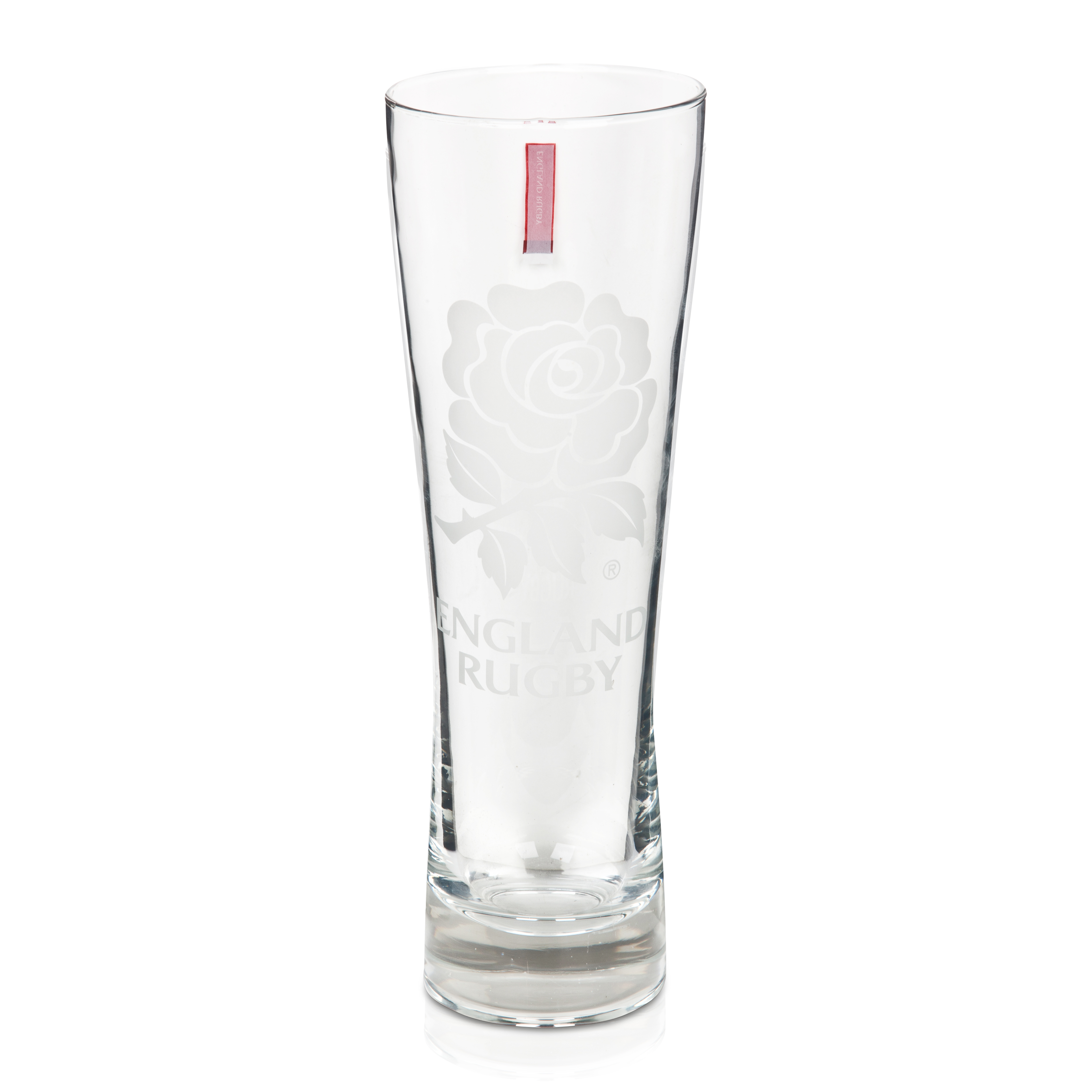 England Rugby Slim Pint Glass