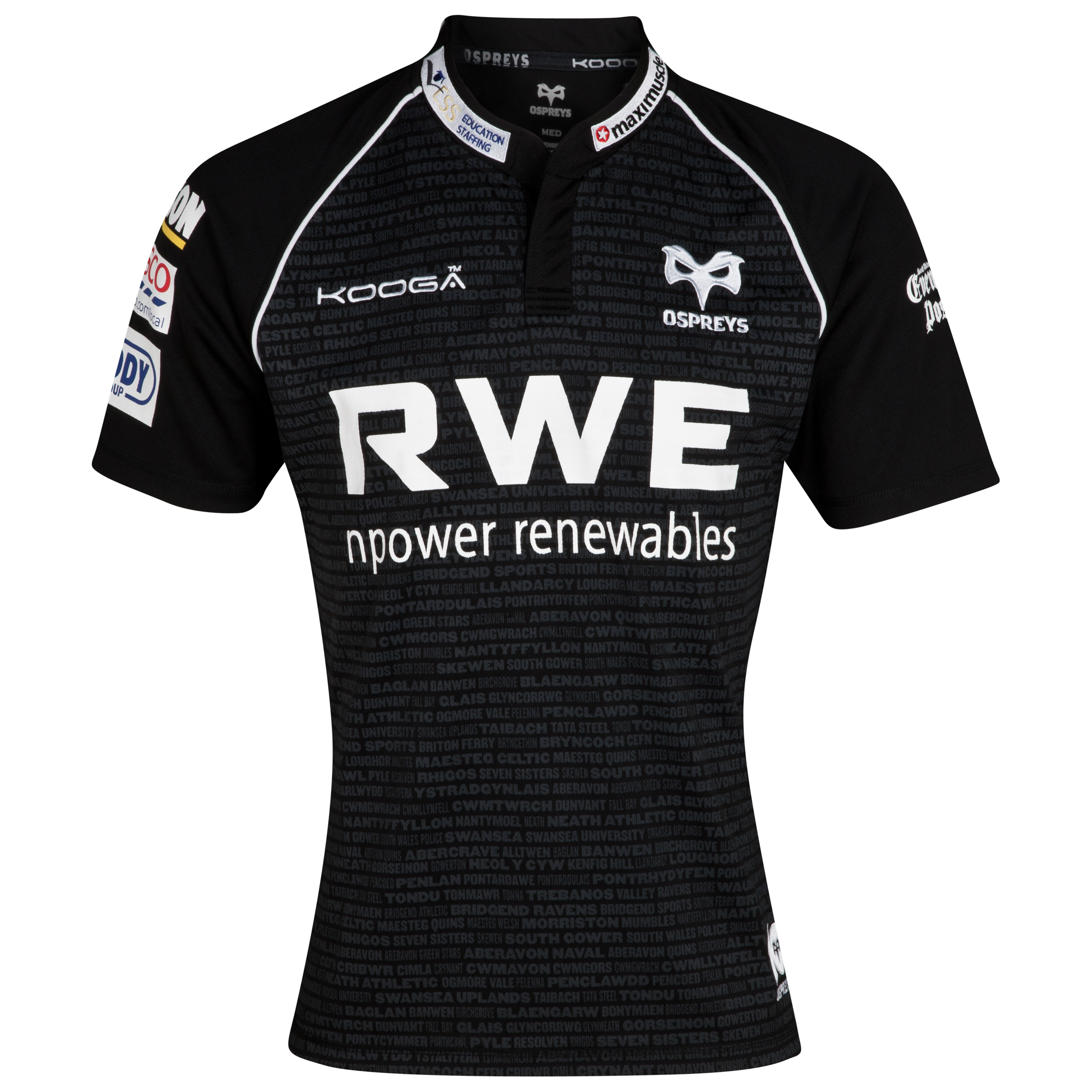 Ospreys Home Supporters Shirt 2012/13