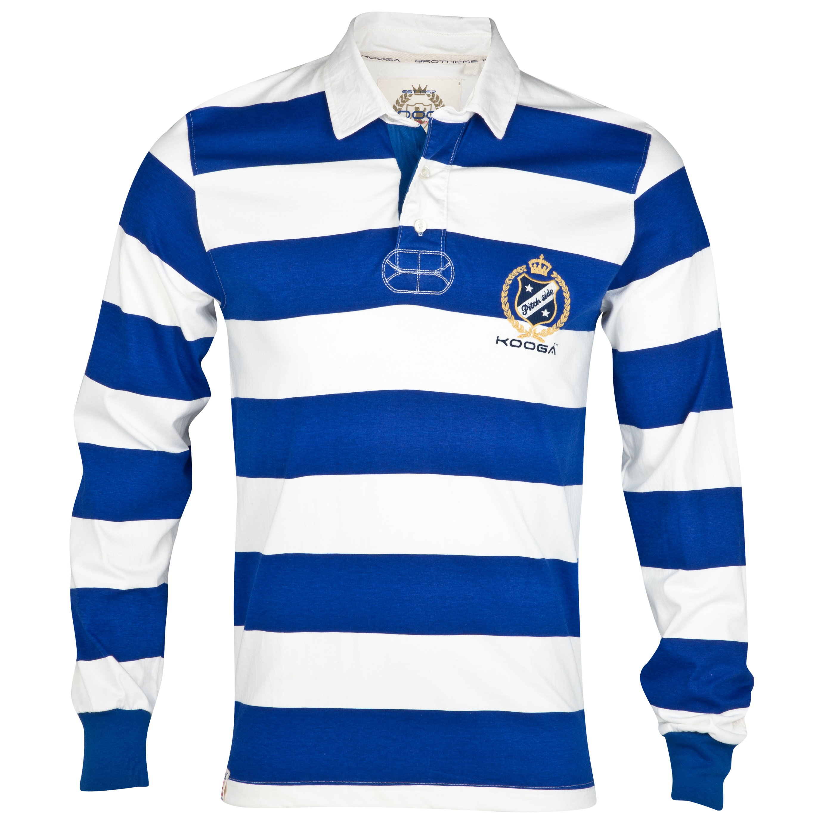 Kooga Rugby Shirt - DarkBlue/Off White
