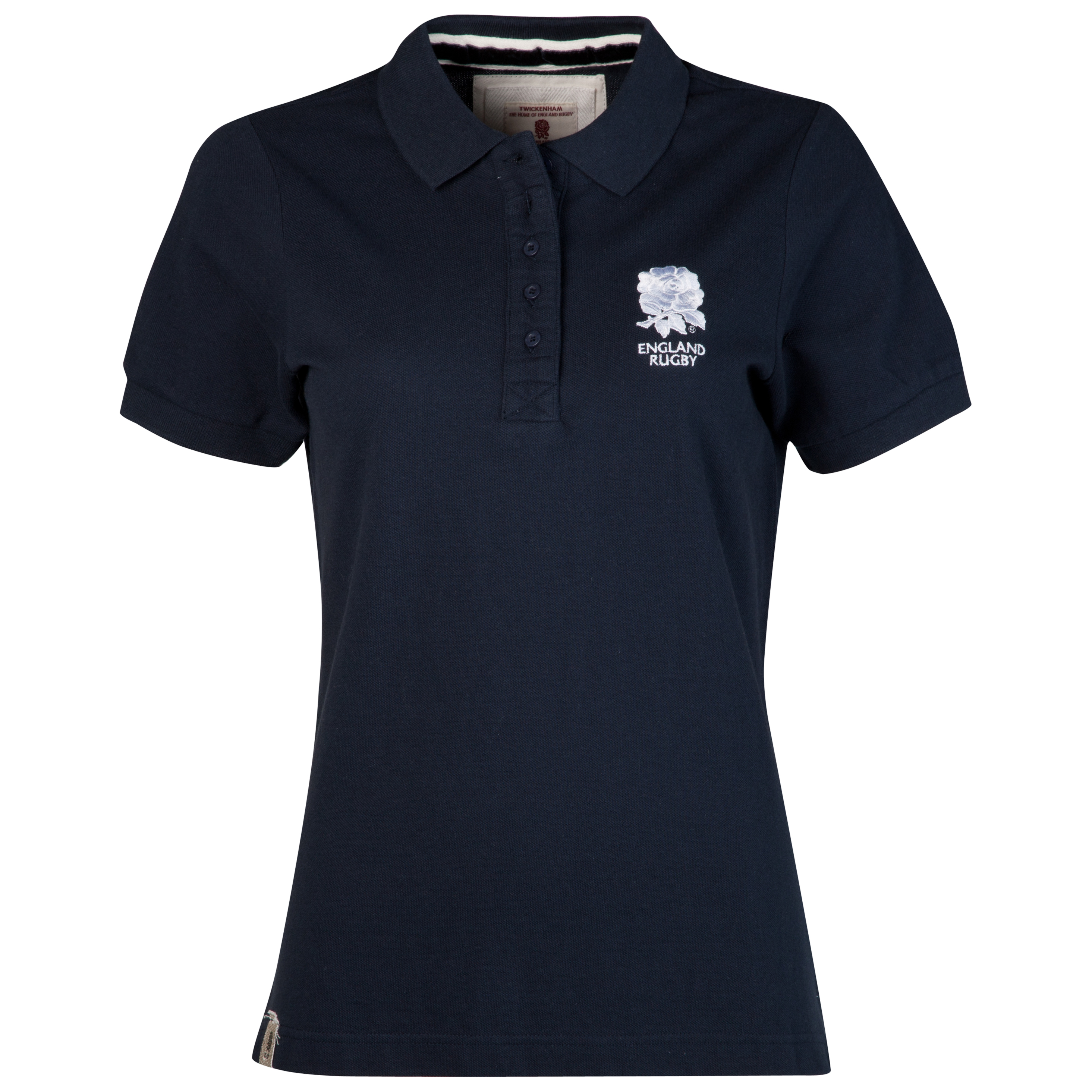 England Rugby Polo - Navy - Womens