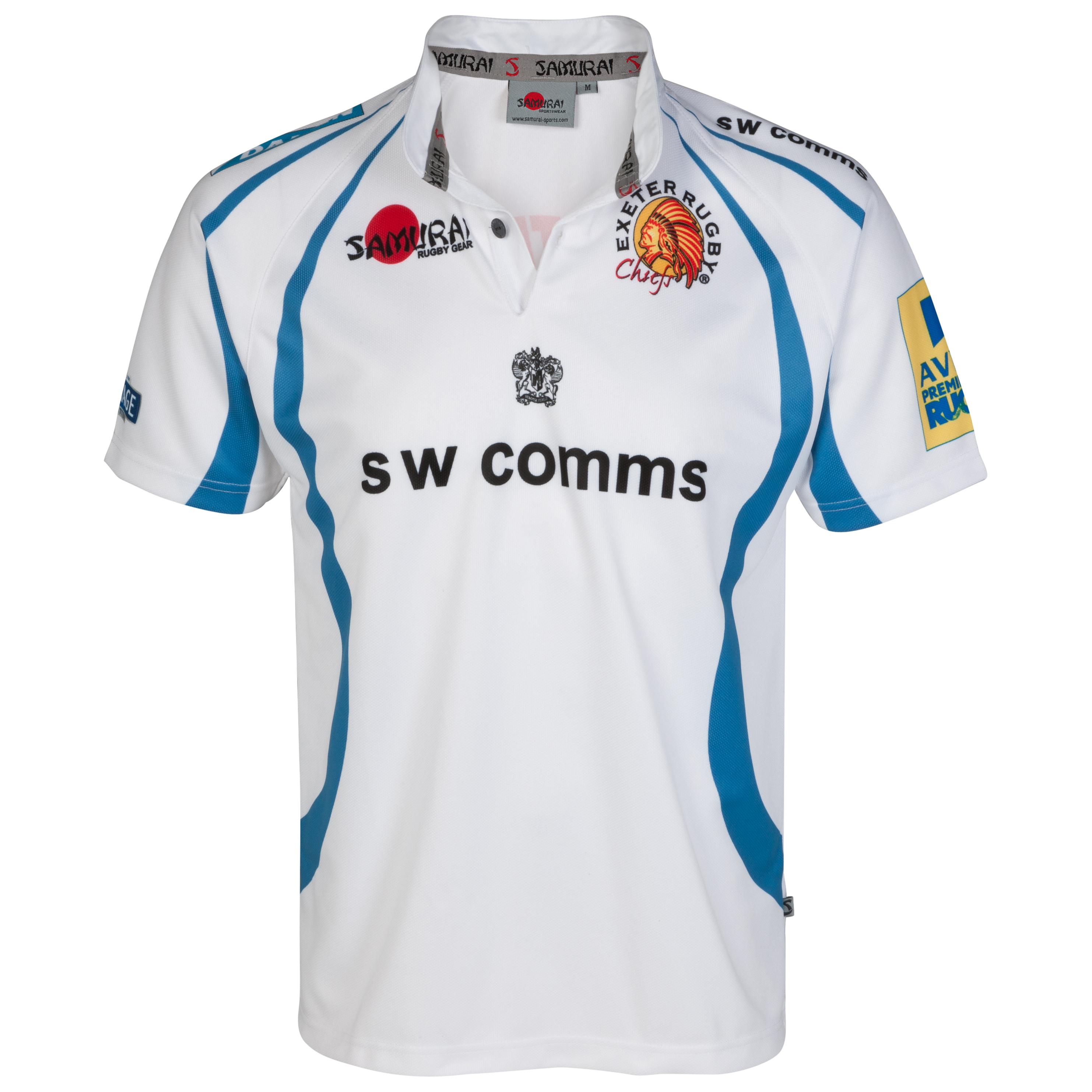 Exeter Chiefs Away 2012/13 Rugby Shirt