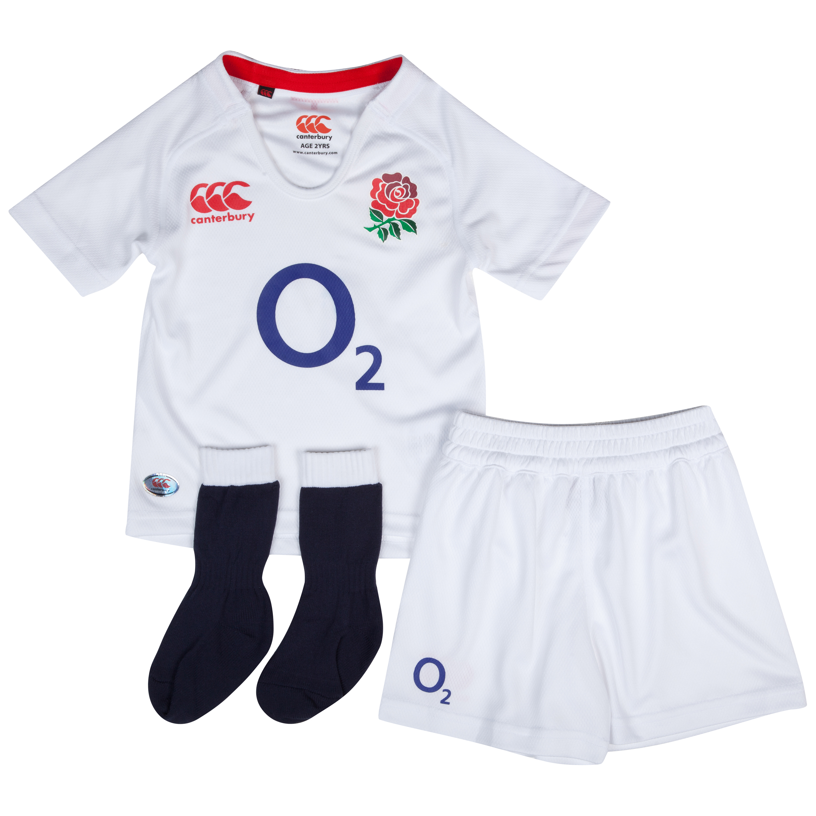 England Home Rugby Infants Kit 2012/13