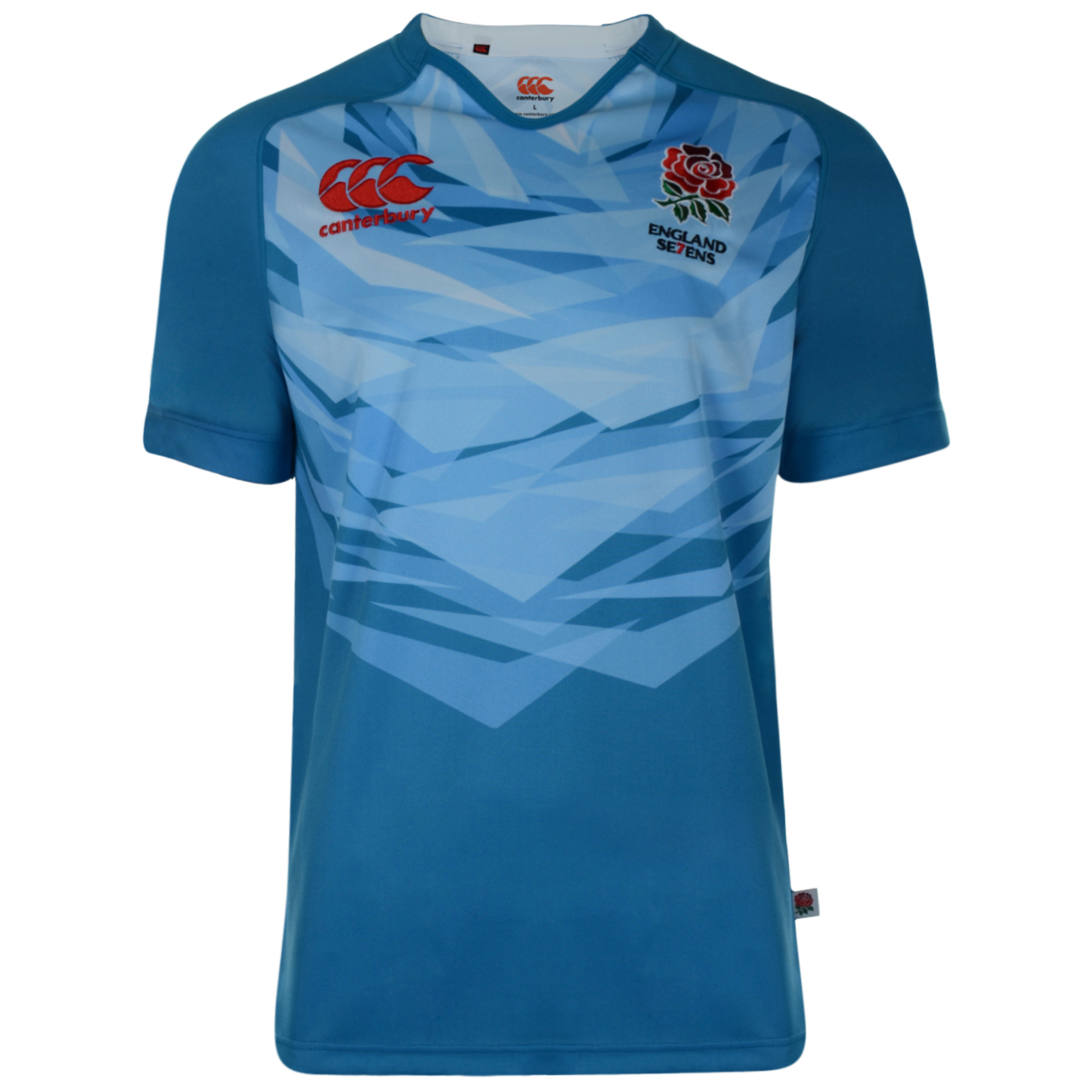England Alternate 7'S Rugby Pro Shirt 2012/13 S/S - Kids