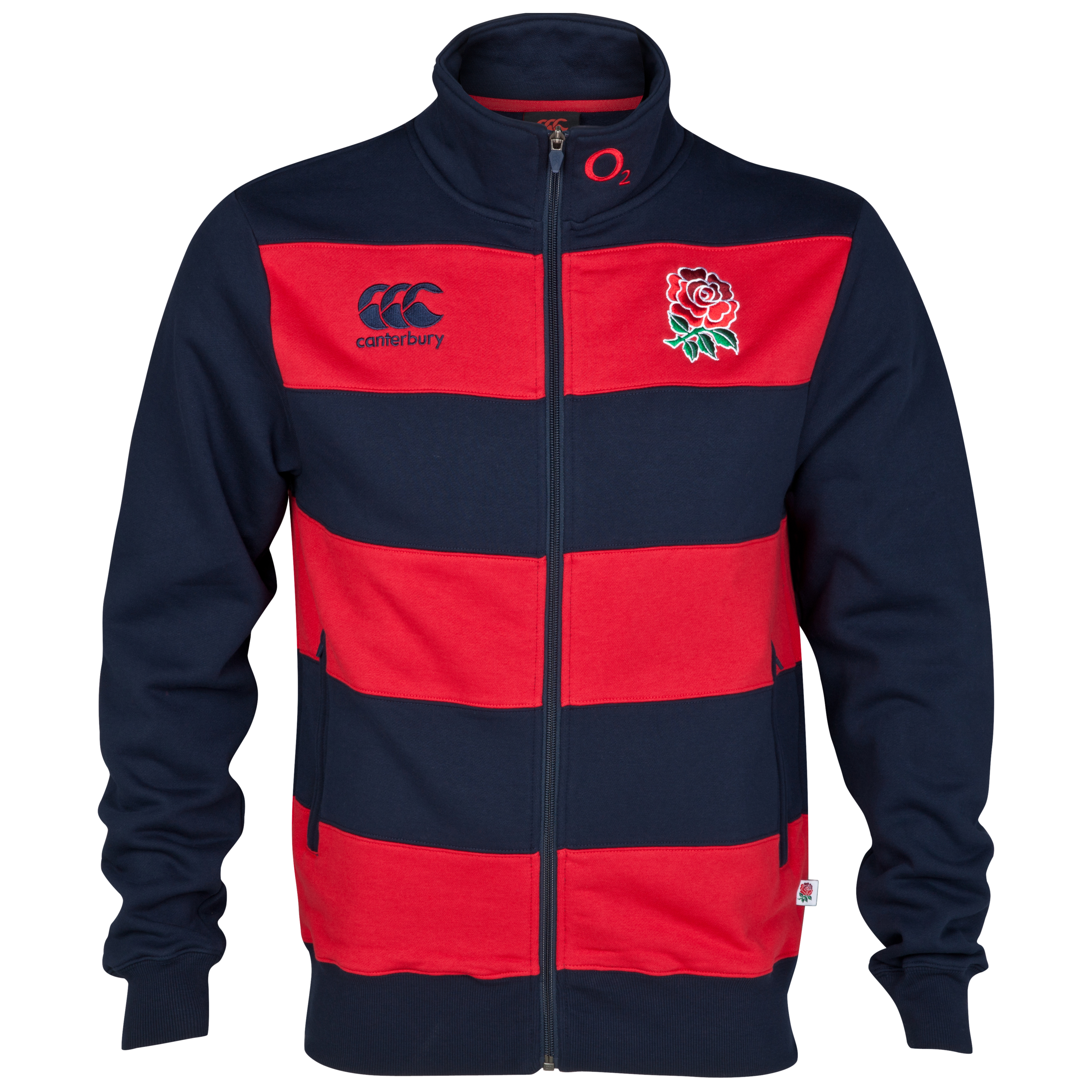 England Anthem Track Jacket - Navy / Flag Red