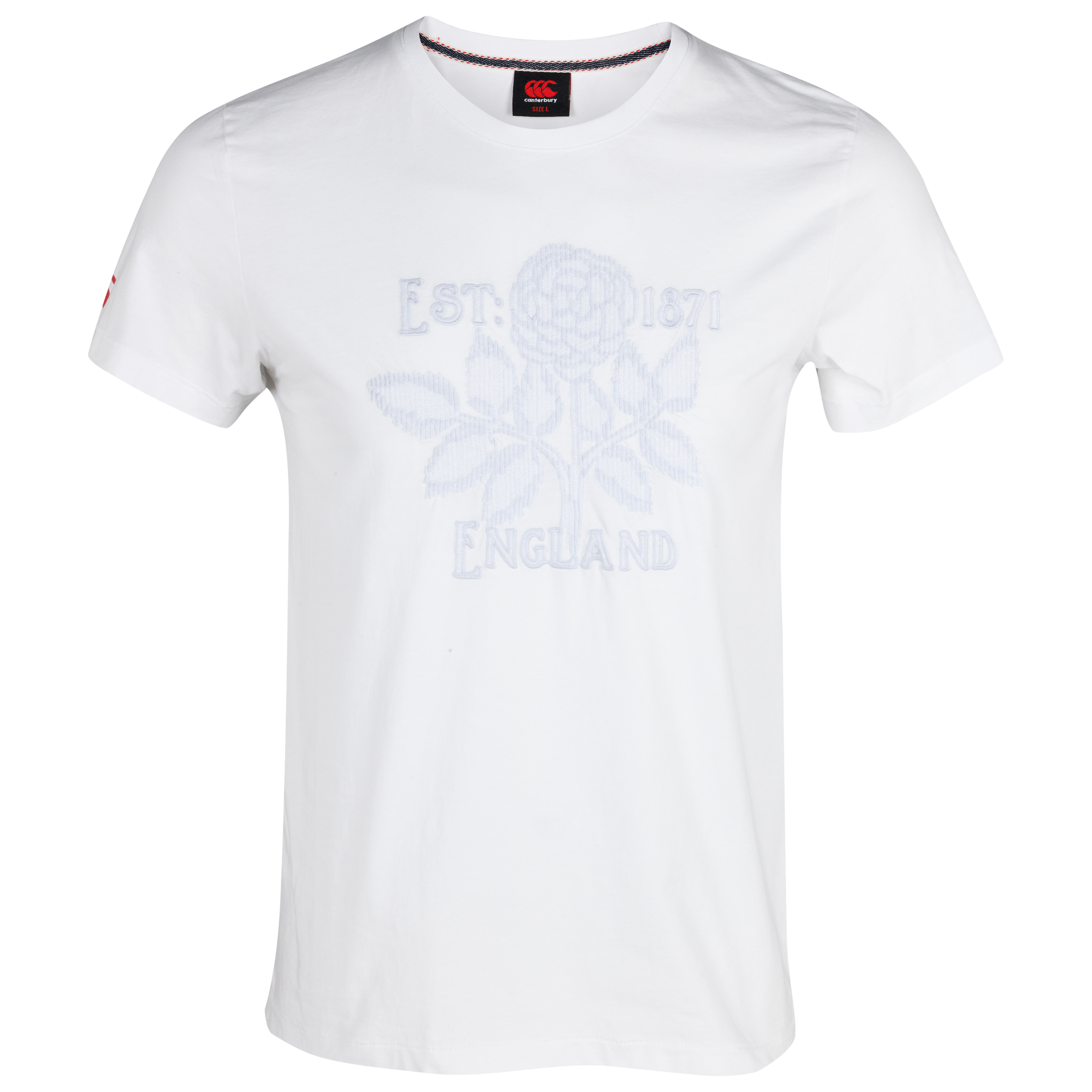 England Lifestyle Graphic Rose T-Shirt