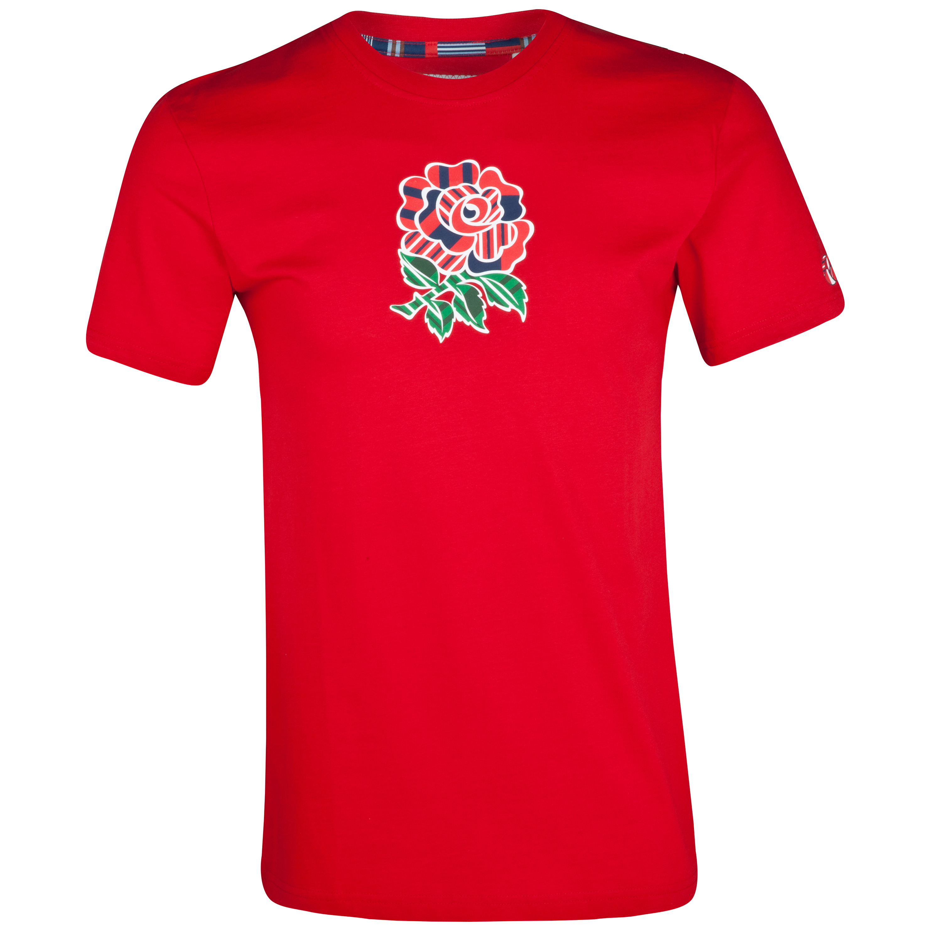 England Uglies Cotton T-Shirt - Flag Red