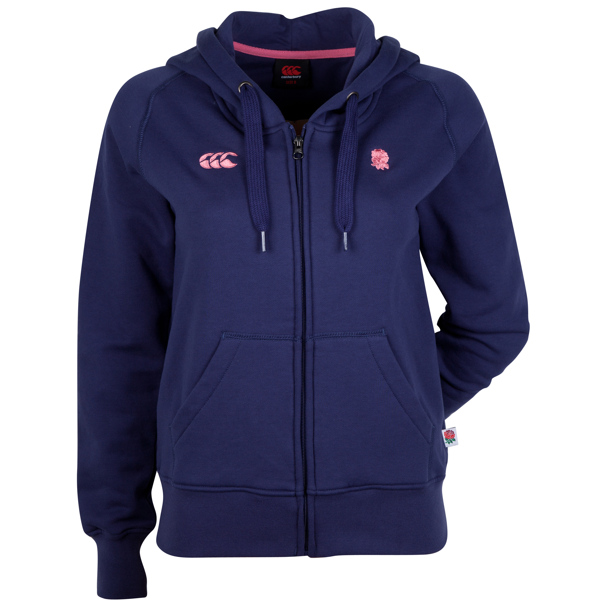England Full Zip Hoody - Womens