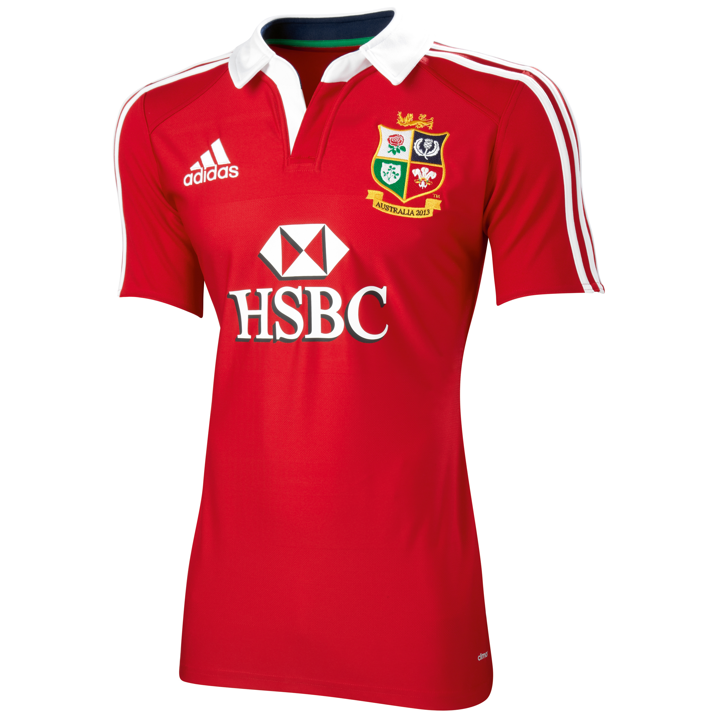 adidas British and Irish Lions Authentic Home Shirt  2013