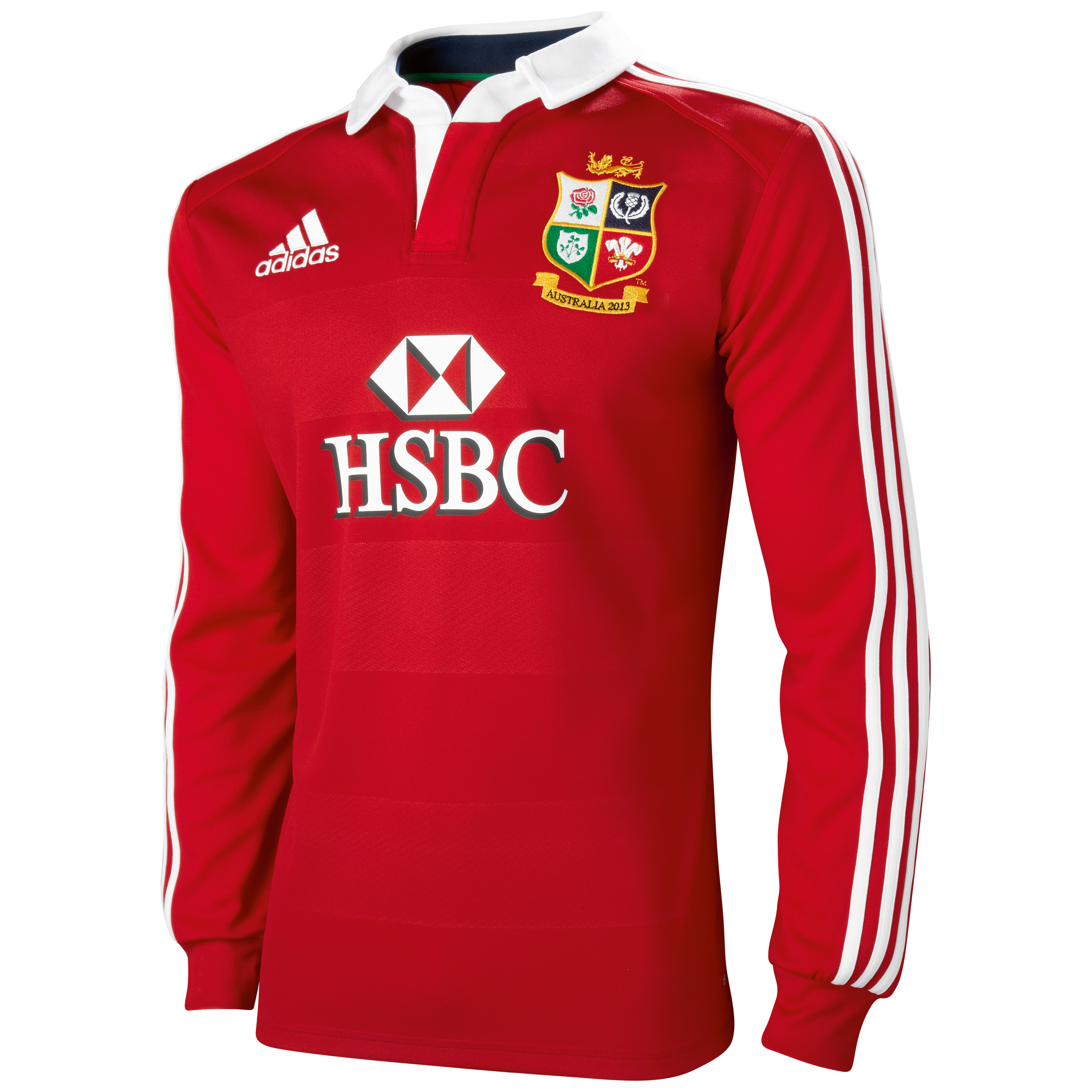 adidas British and Irish Lions Home Shirt 2013 - Long Sleeve