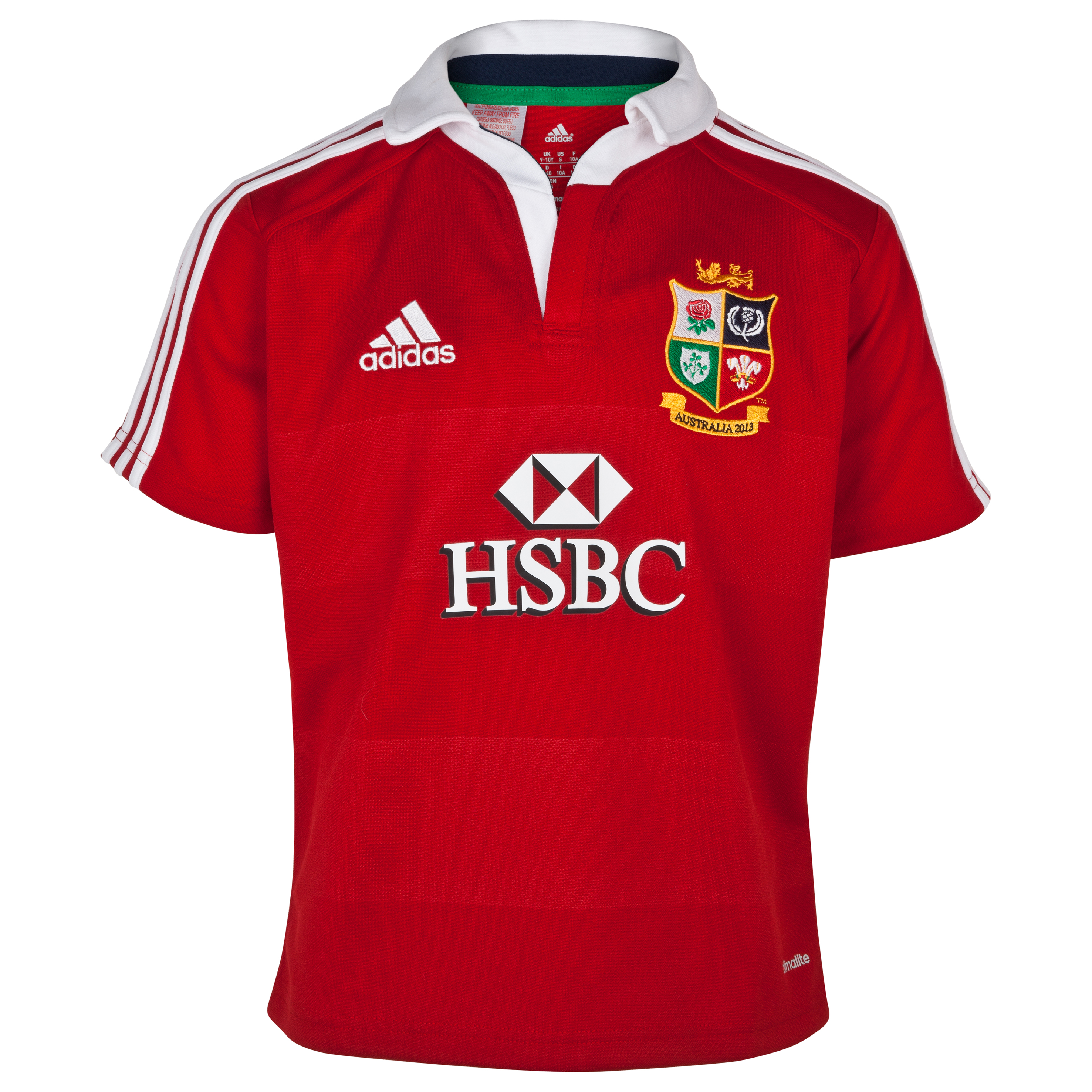 adidas British and Irish Lions Home Shirt 2013  - Kids