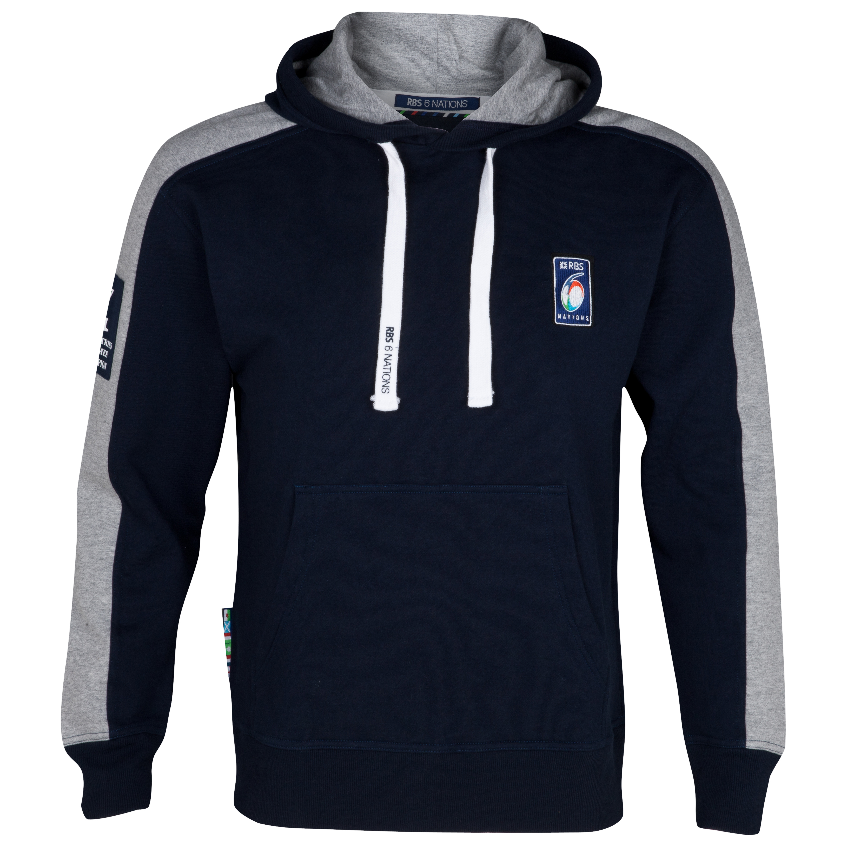 RBS 6 Nations Classic Hoody - Navy