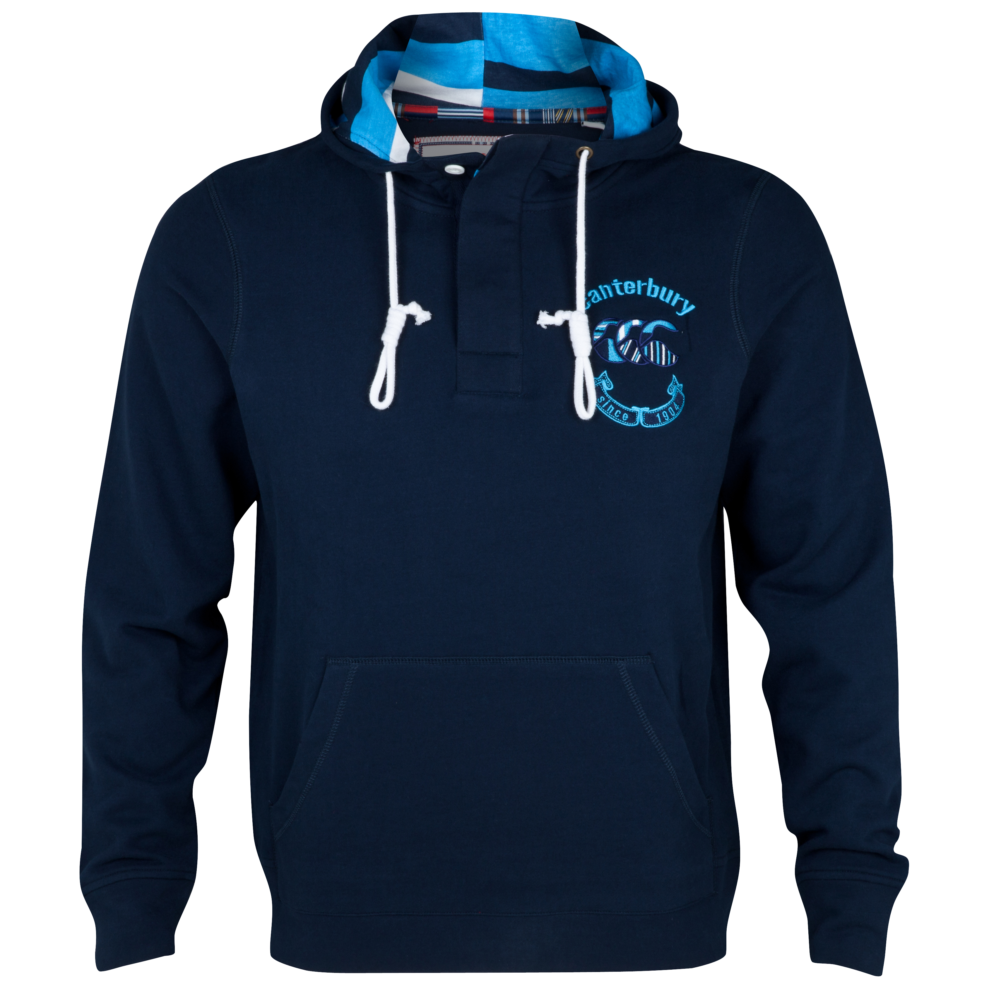 Canterbury Uglies Button Placket Hoody - Navy