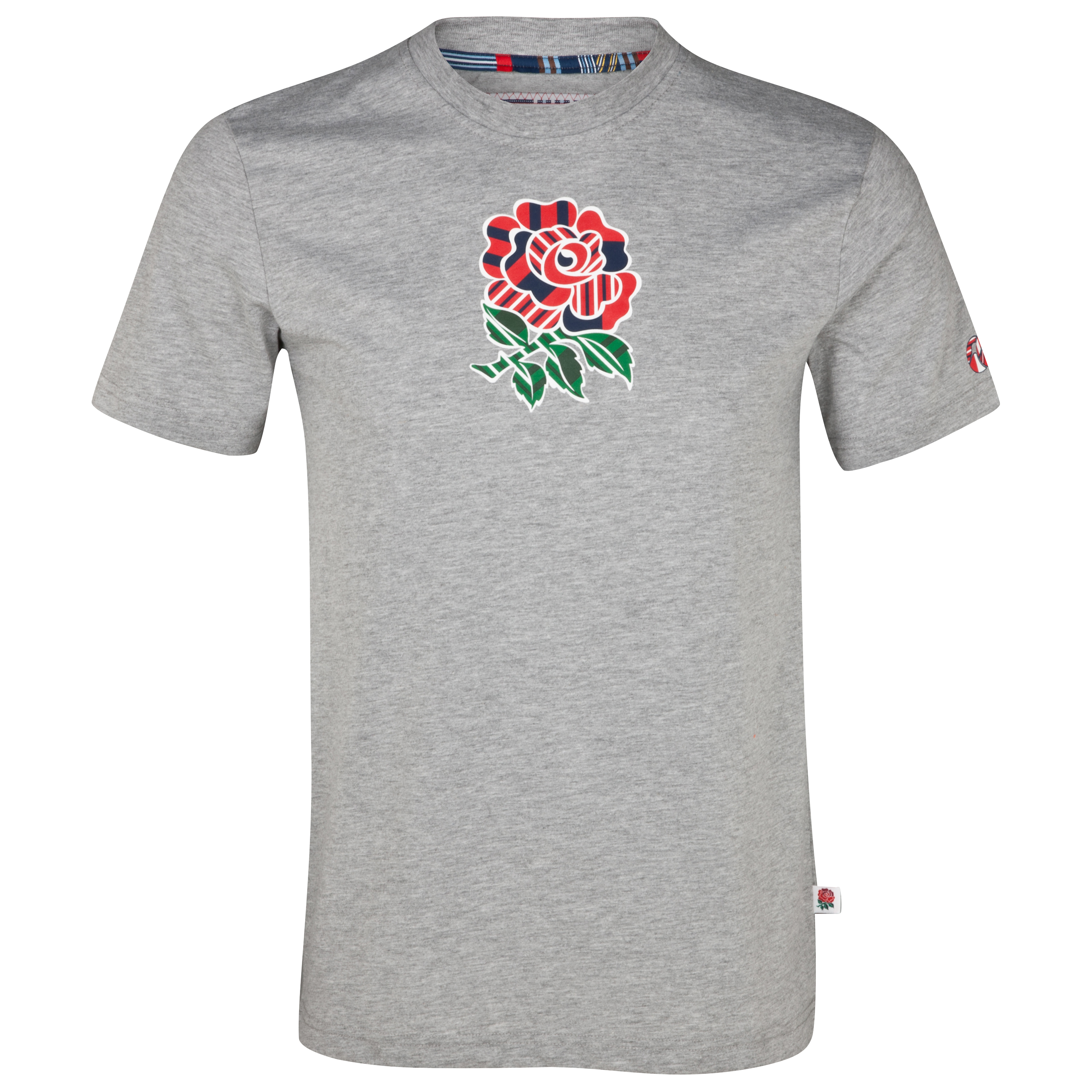 England Uglies Cotton Rose T-Shirt - Classic Marl