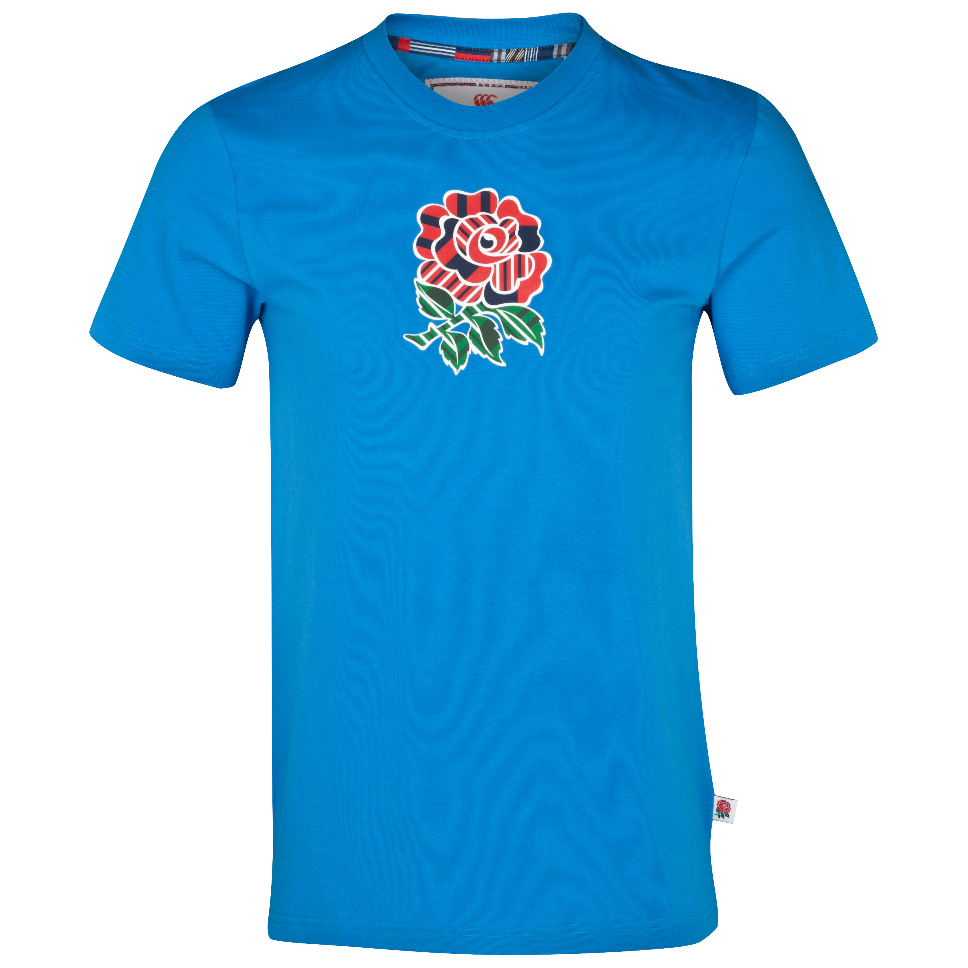England Uglies Cotton Rose T-Shirt - British Blue