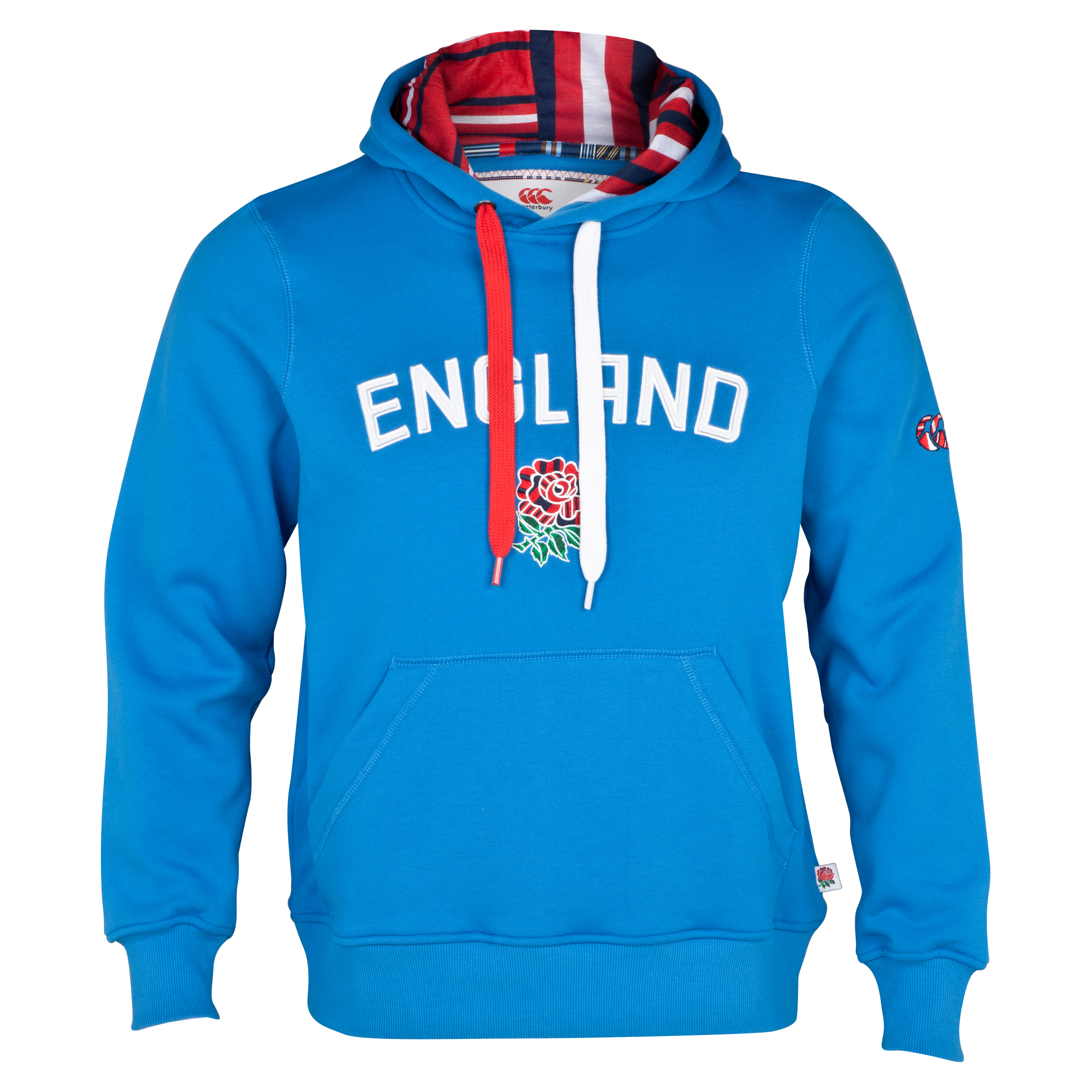 England Uglies Graphic Overhead Hoody - British Blue
