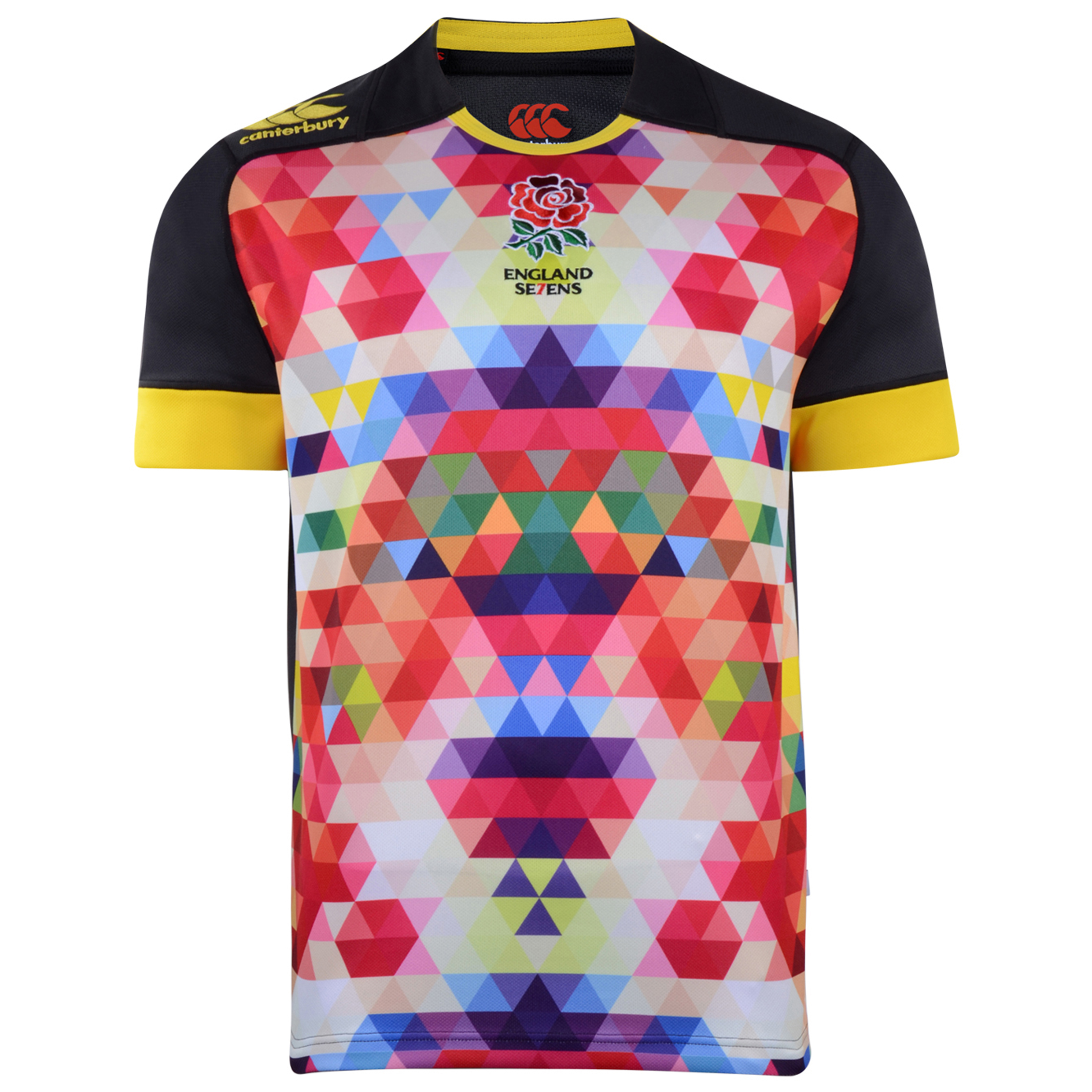 England Alternate 7's Rugby Pro Shirt 2013/14  - Kids