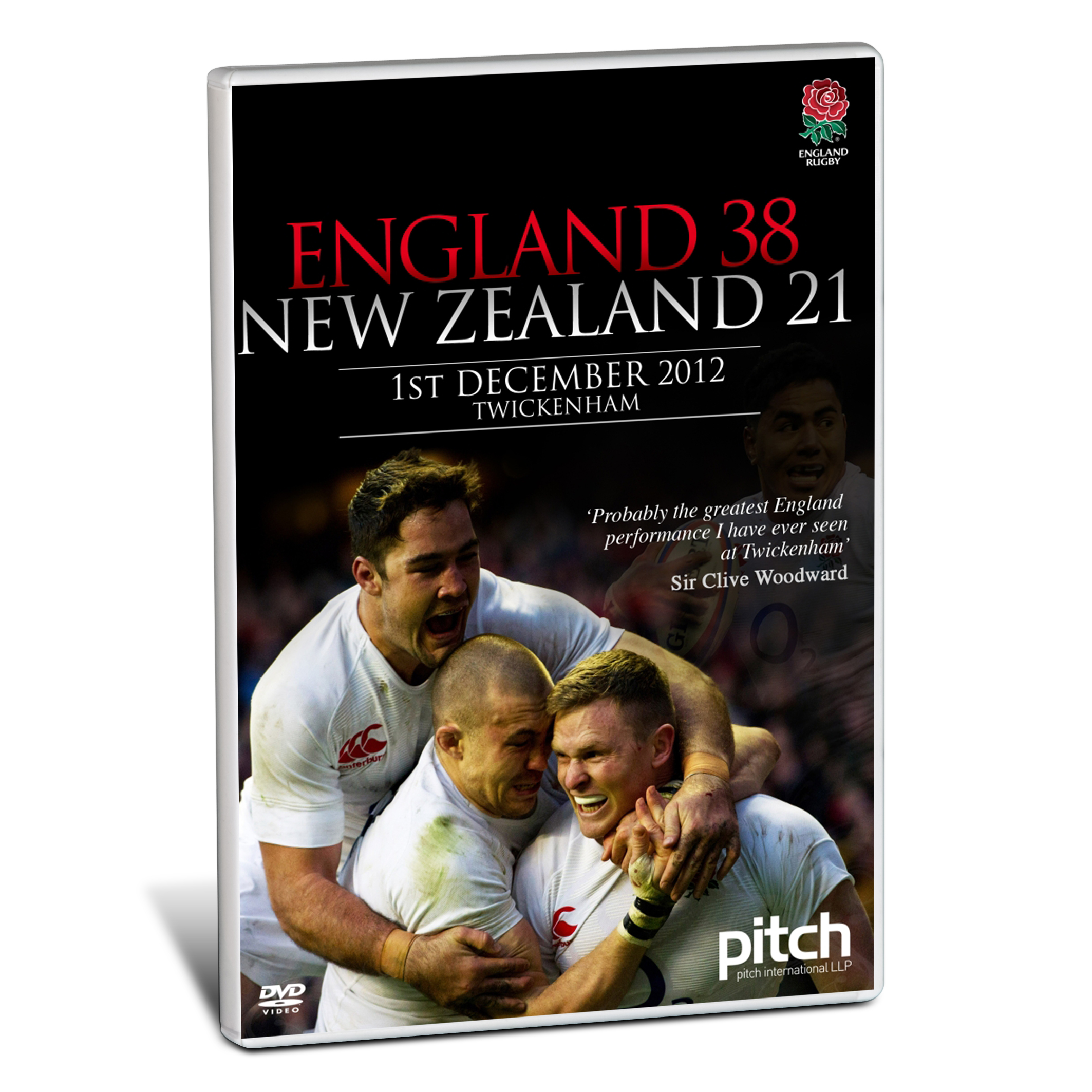 England Rugby England 38 New Zealand 21 DVD