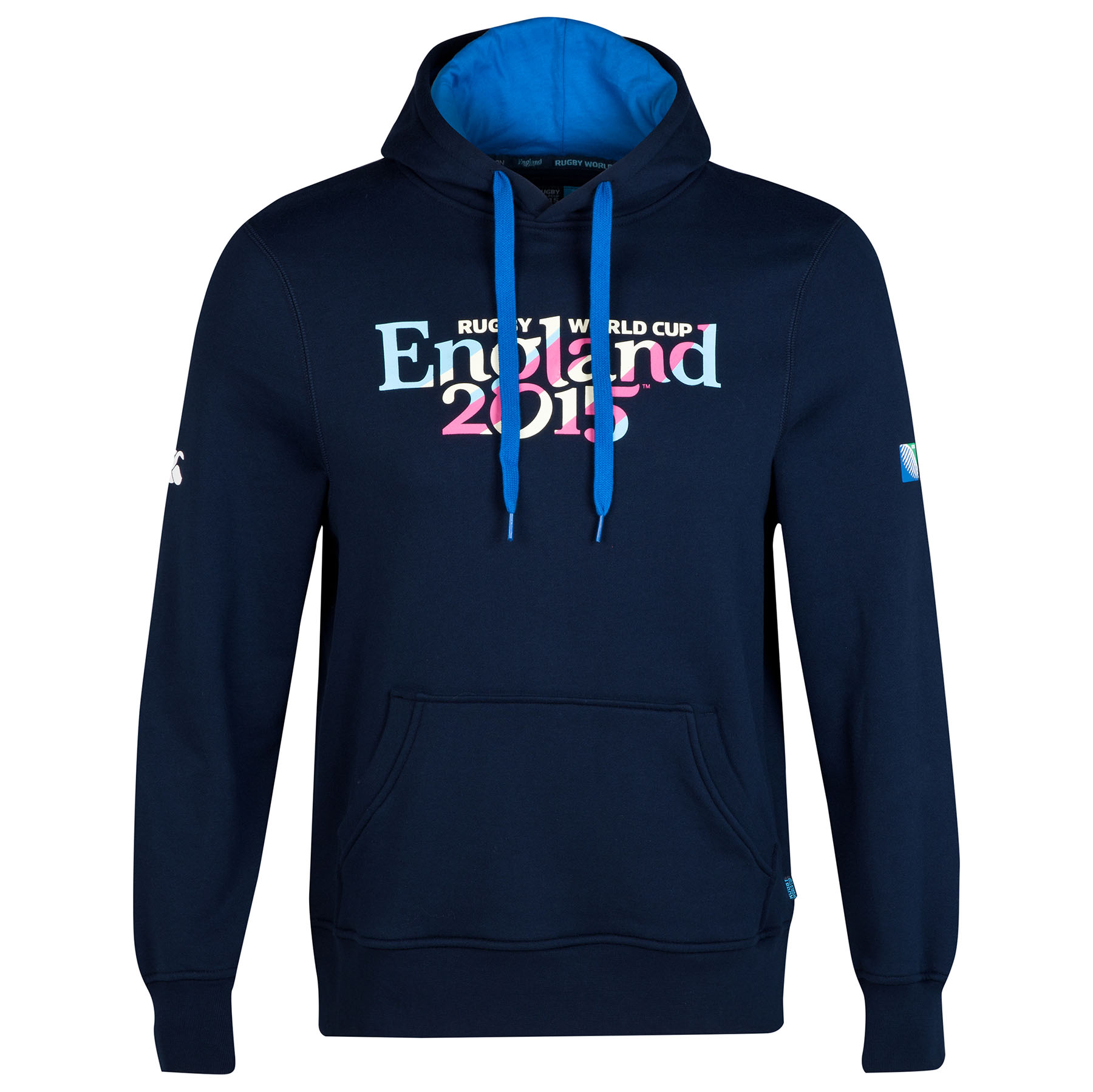 England Rugby World Cup 2015 Script Hoody - Navy