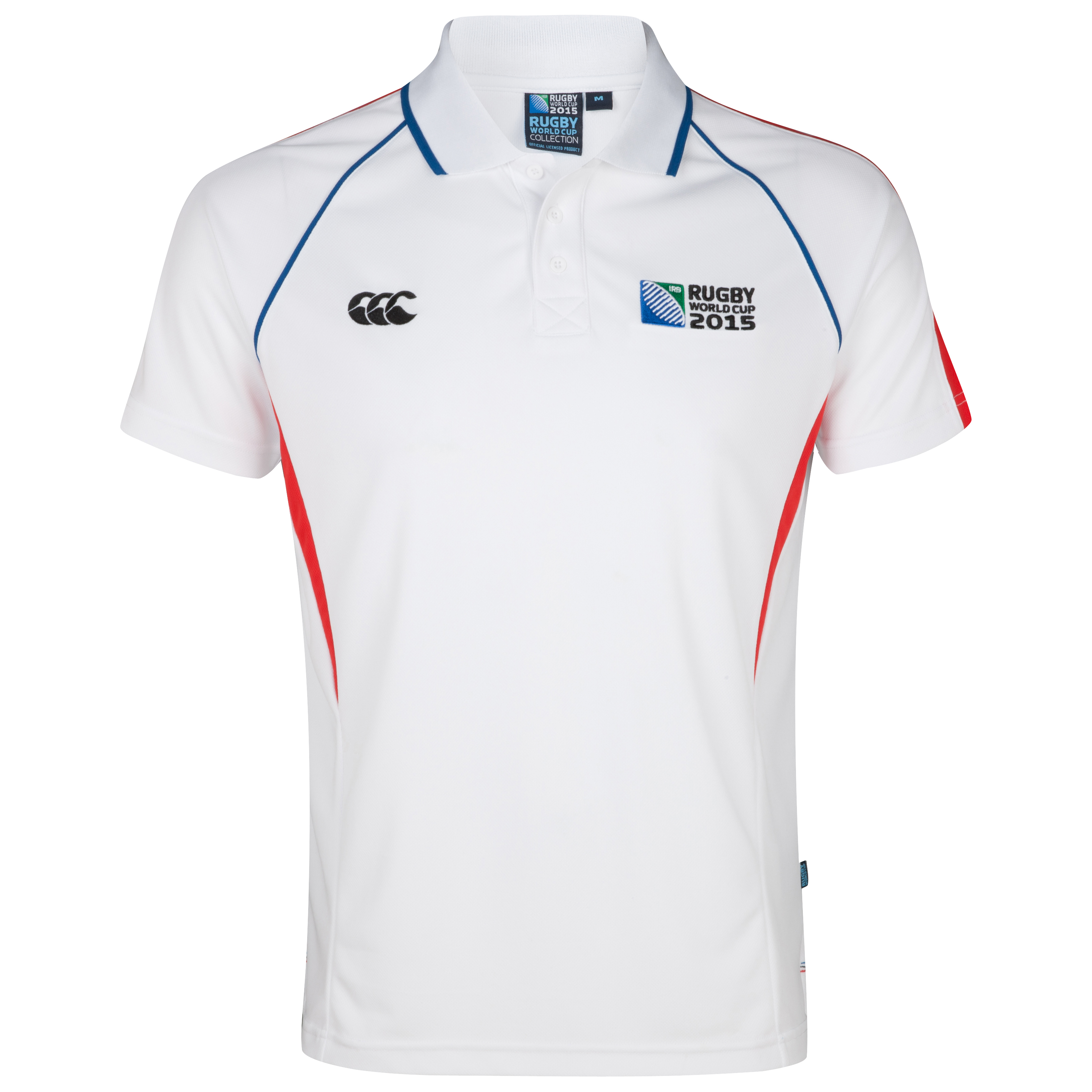 Canterbury Rugby World Cup 2015 Winger Polo - White