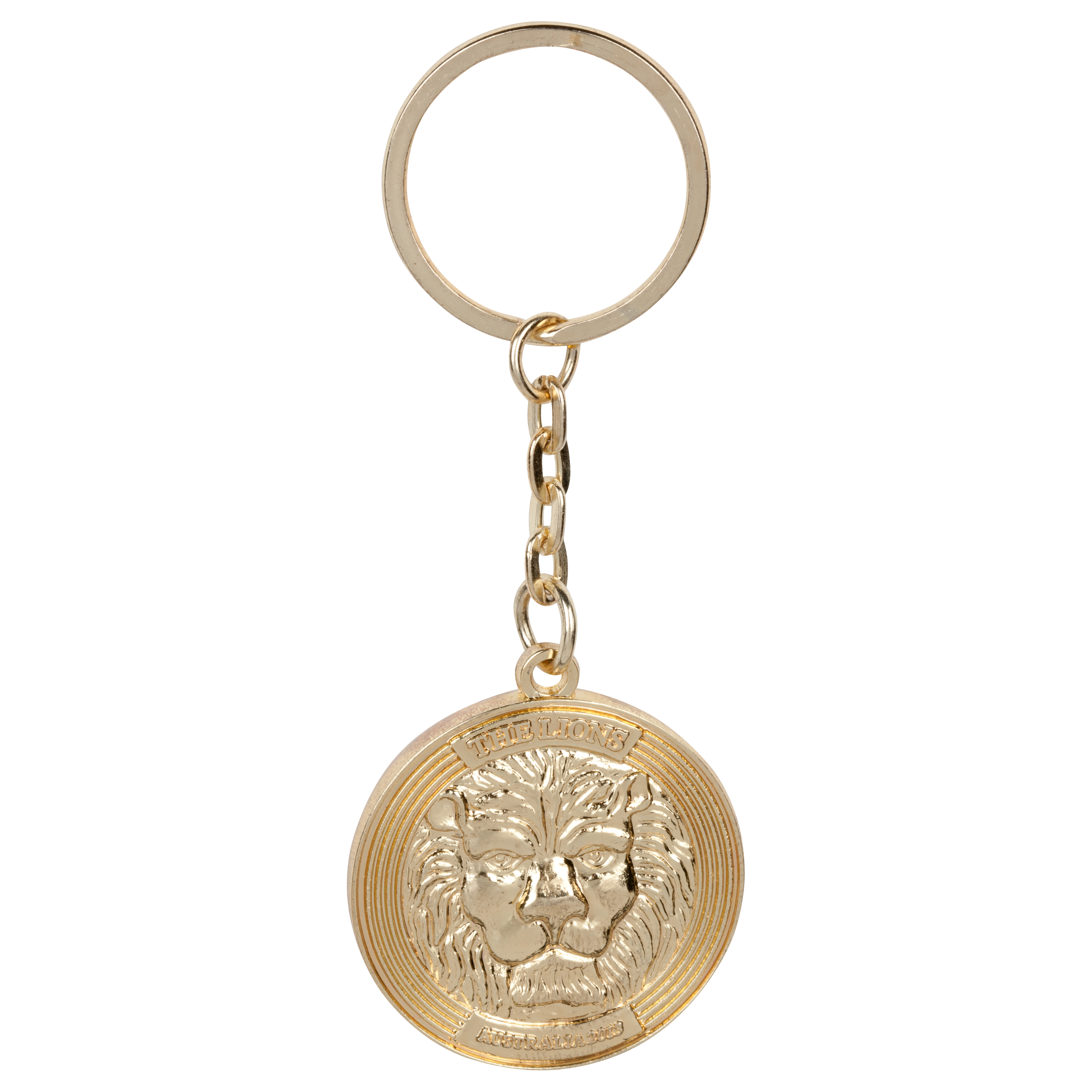 British & Irish Lions Coin Keyring