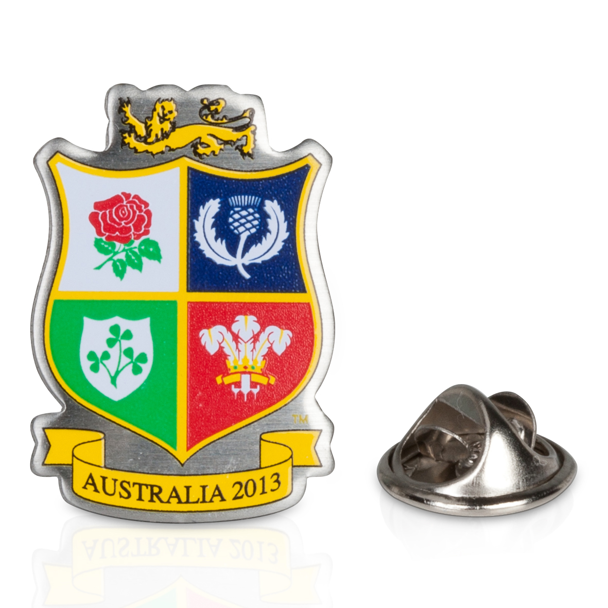 British & Irish Lions Crest Pin Badge