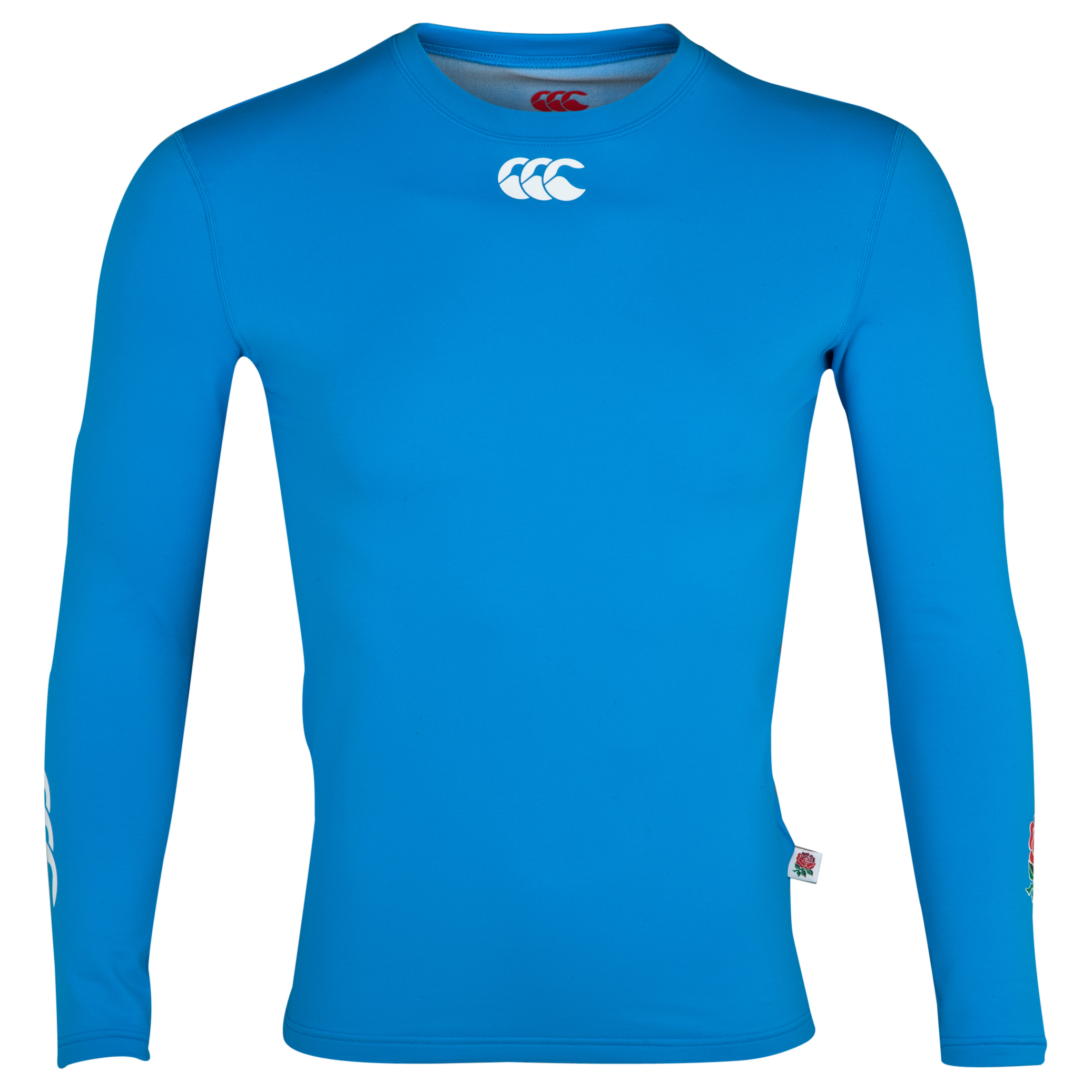 England Cold Baselayer Top - Vivid Blue - Long Sleeved