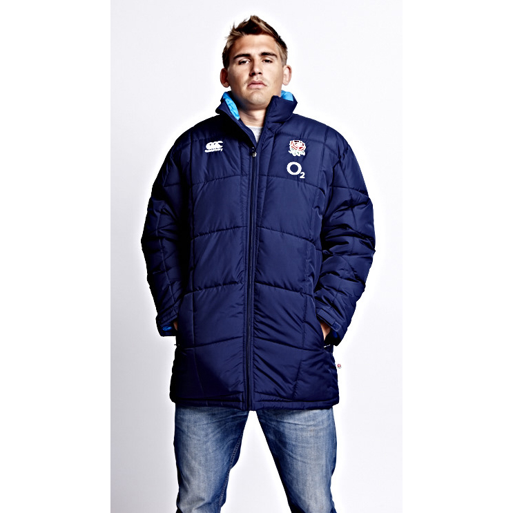 England Puffa Jacket - Peacoat Navy