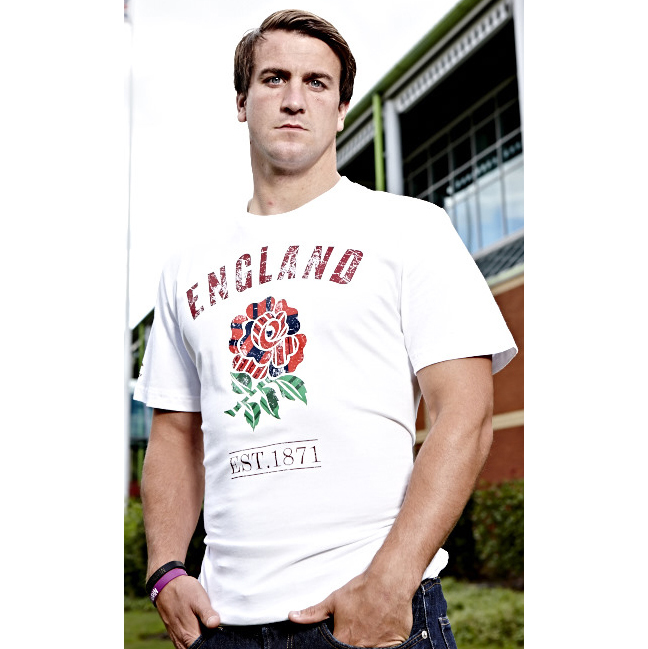 England Uglies Cotton T-Shirt - Bright White White