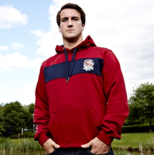 England Uglies Graphic OTH Hoody - Biking Red Red