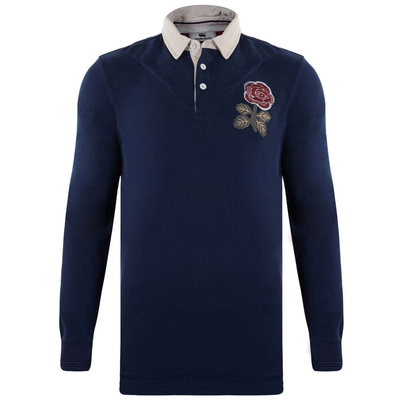 England 1871 Rugby Shirt - Peacoat - Long Sleeve Navy