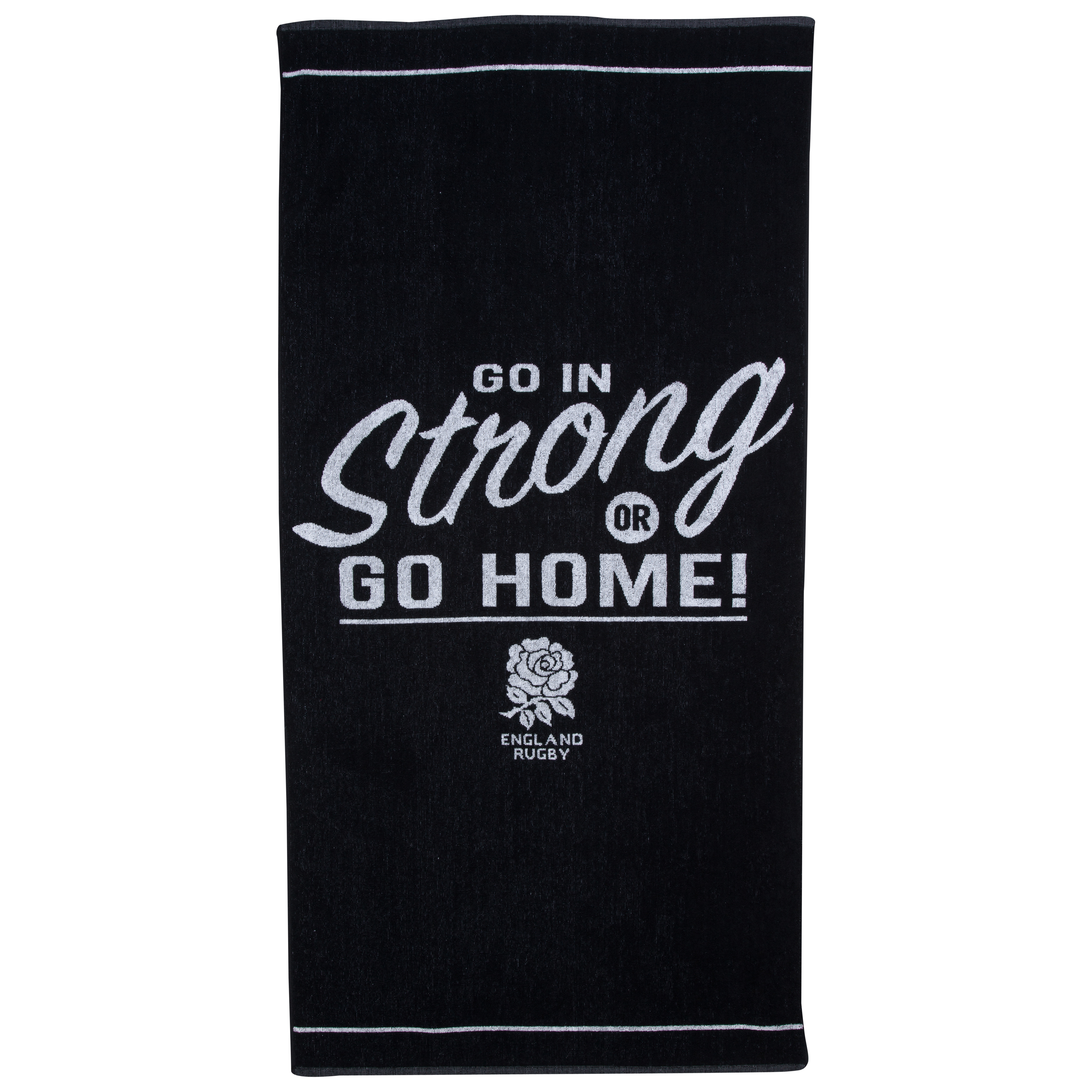 England Rugby Go In Strong Beach Towel