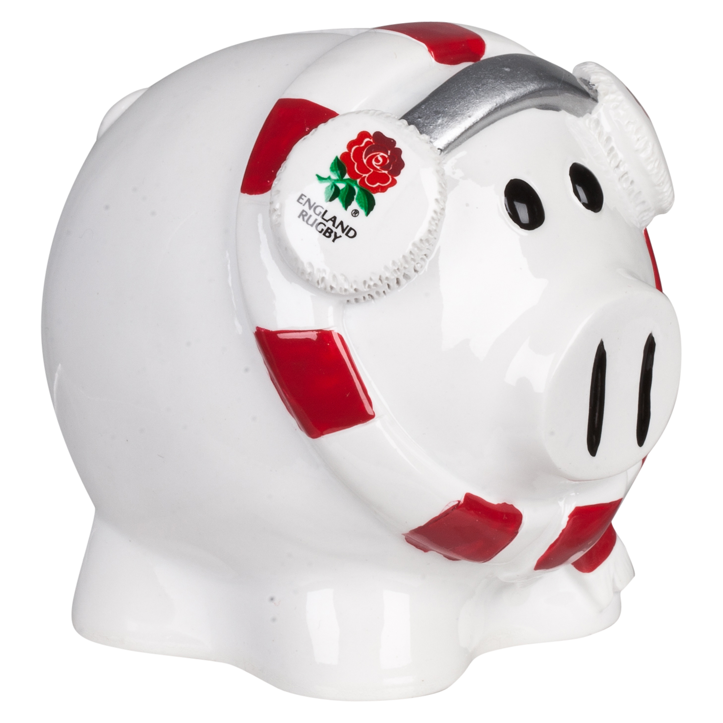 England Rugby Cold Piggy Bank