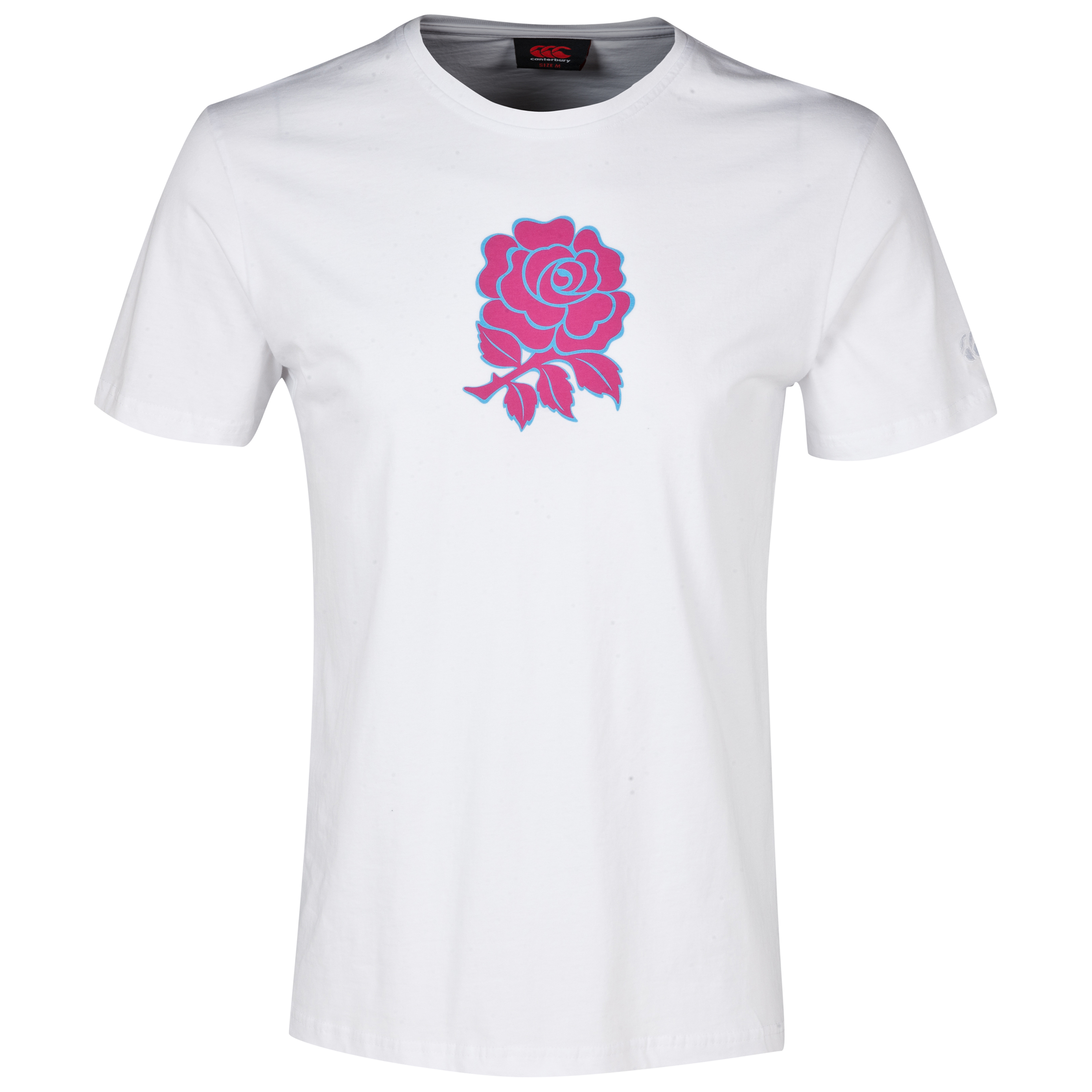 England Uglies Rose Graphic Cotton T-Shirt White