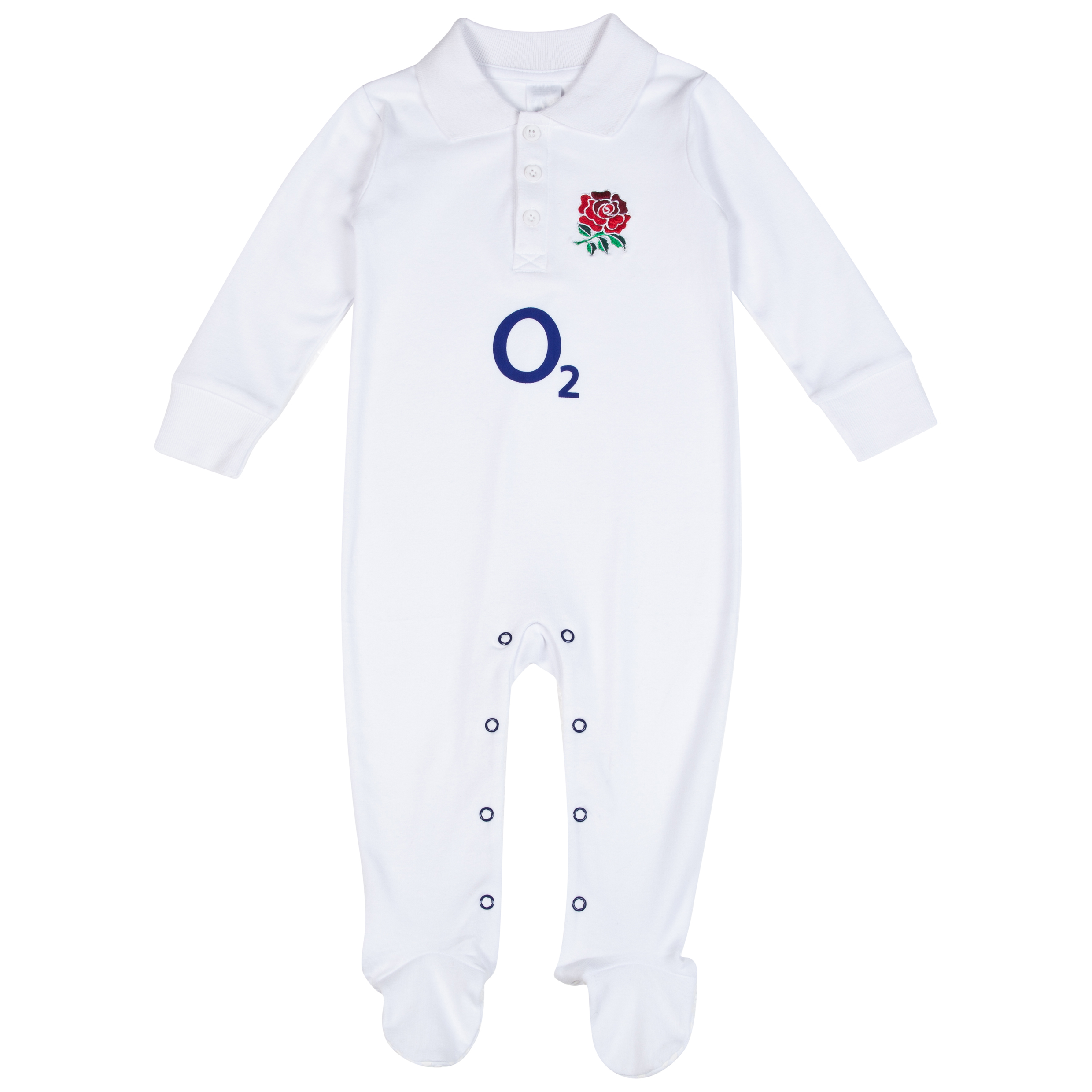 England Rugby Kit Sleepsuit 2013/14 White