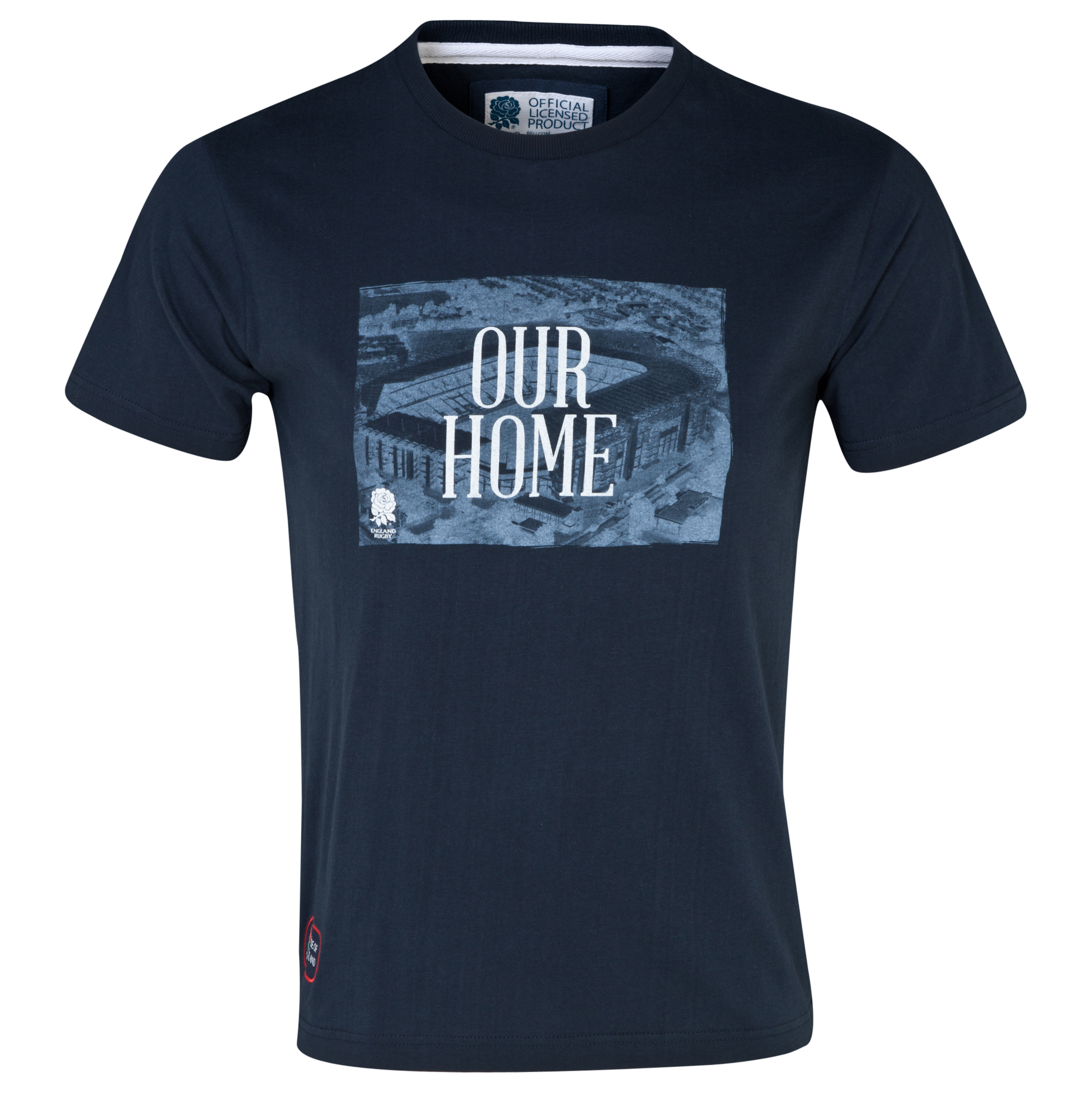 England Rugby Classics Collection Our Home T-Shirt Navy