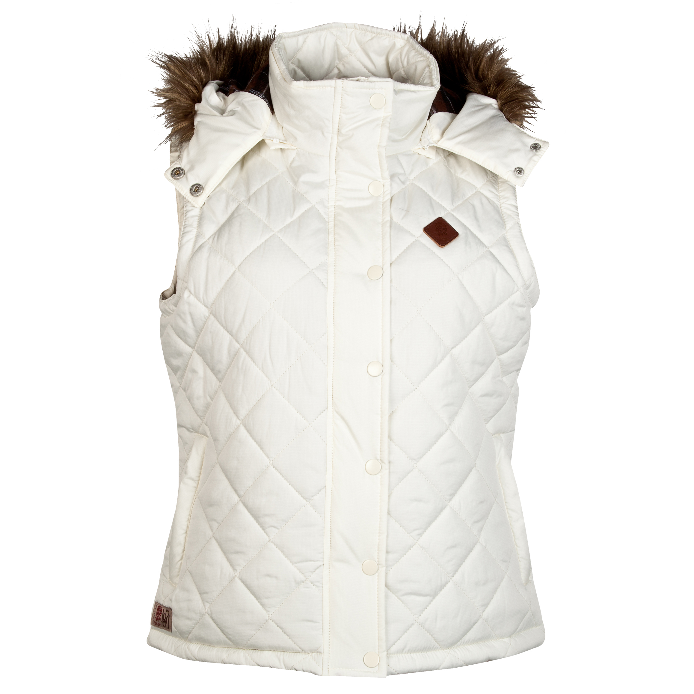 England Rugby Authentics Collection Gilet - Womens Cream