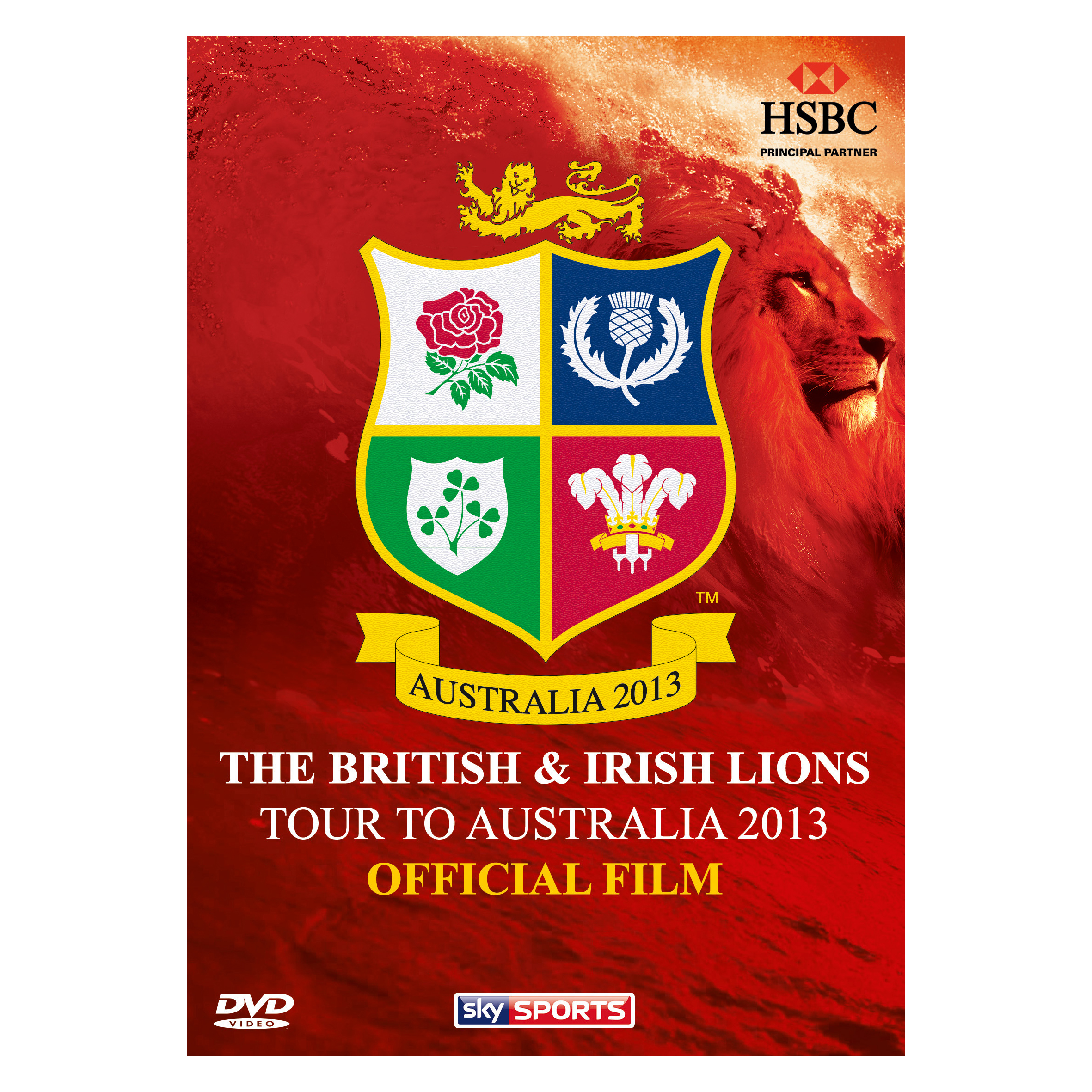 British & Irish Lions Tour to Australia 2013 Official Film - DVD