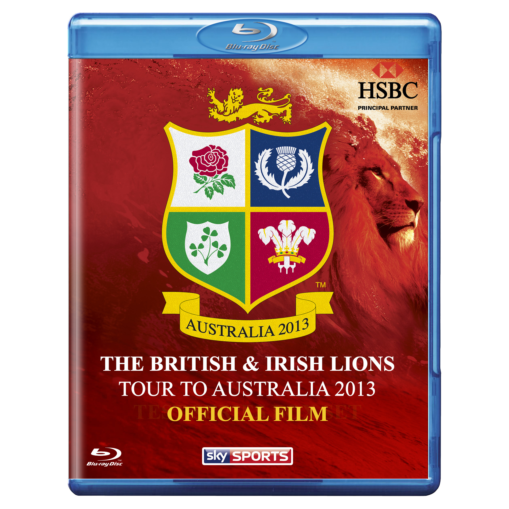 British & Irish Lions Tour to Australia 2013 Official Film - Blu-Ray