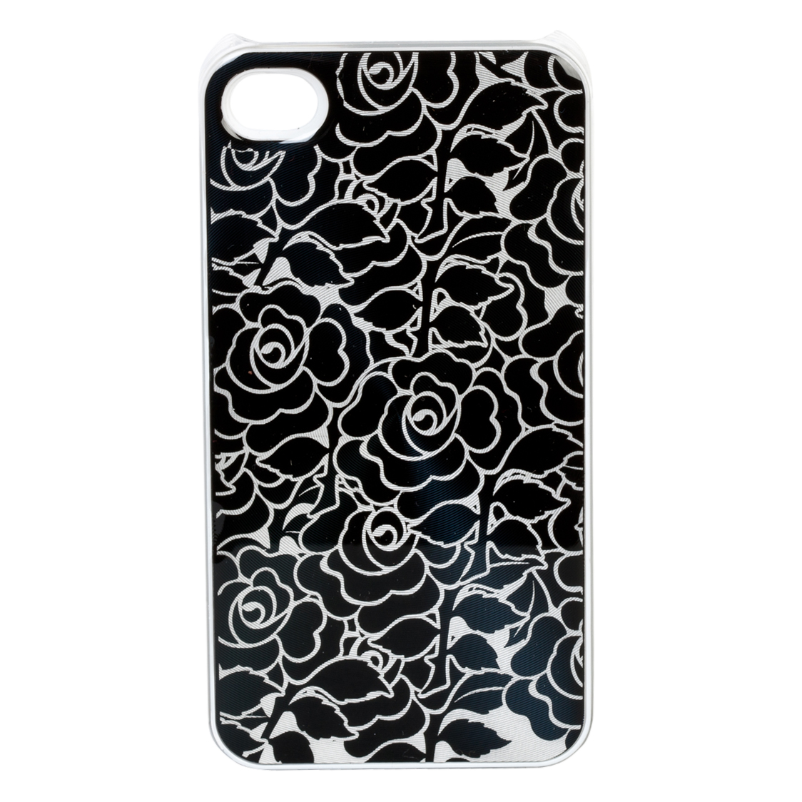 England Black Rose iPhone 4 Cover
