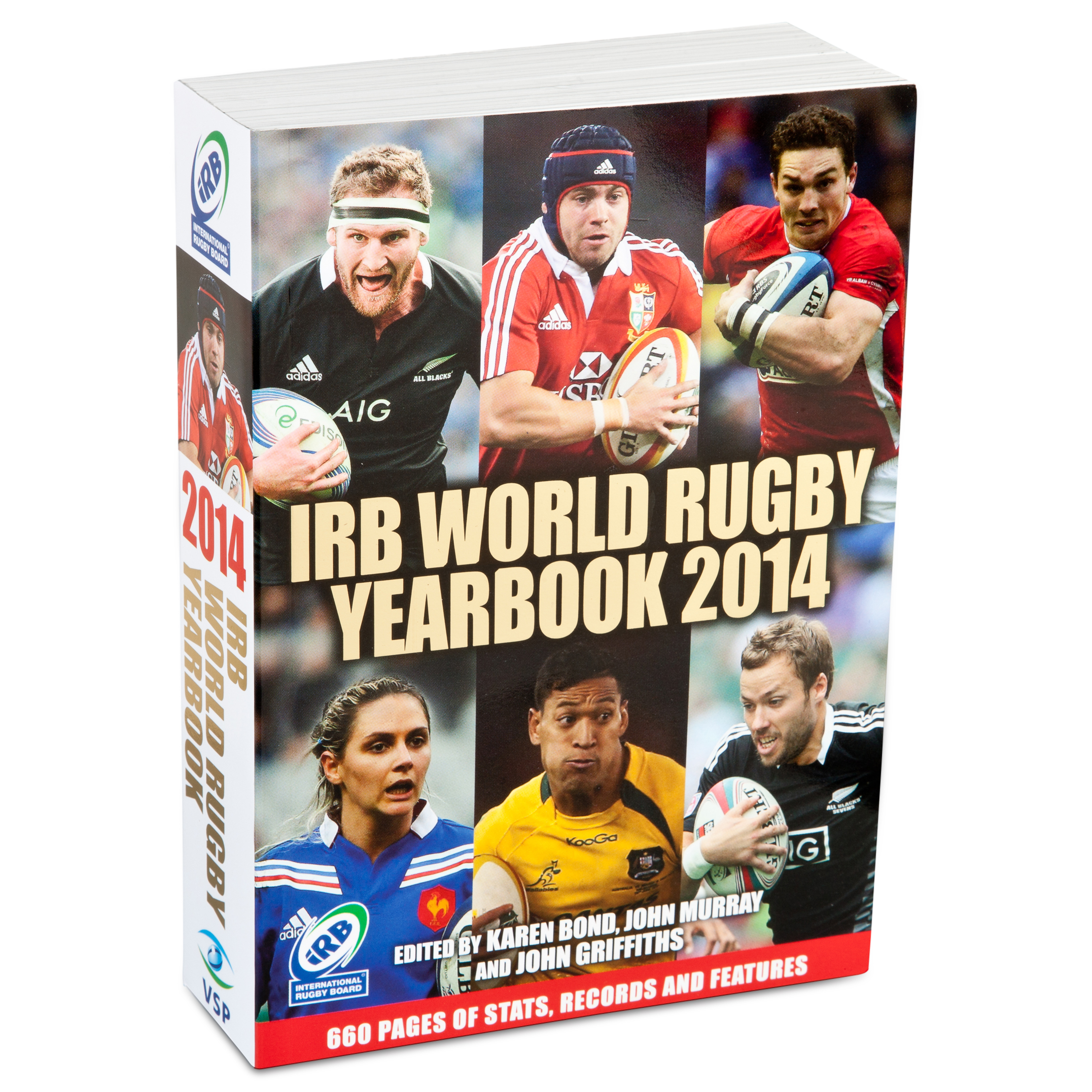 England The IRB World Rugby Yearbook 2014