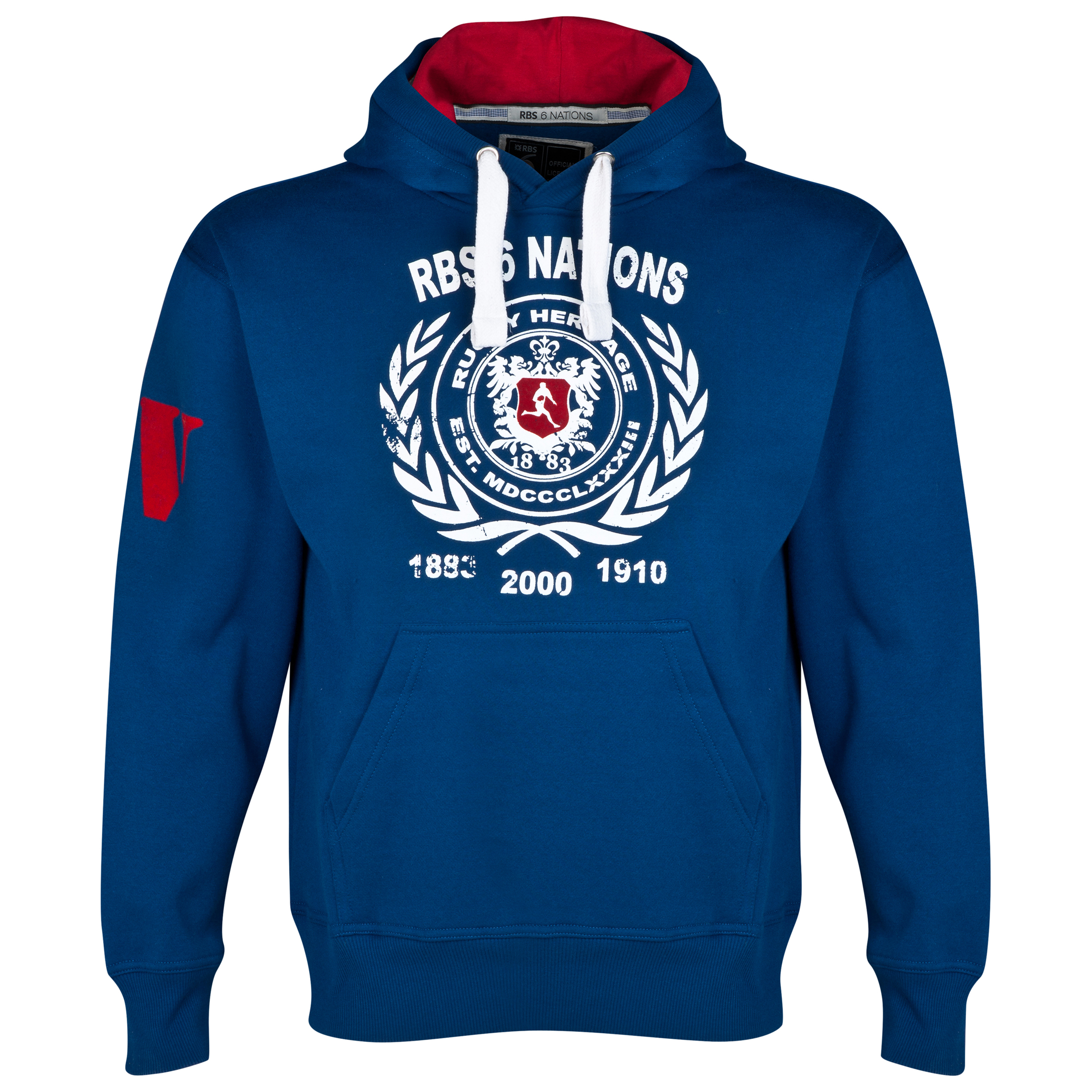 RBS Six Nations Heritage Hoody - Mens - Blue