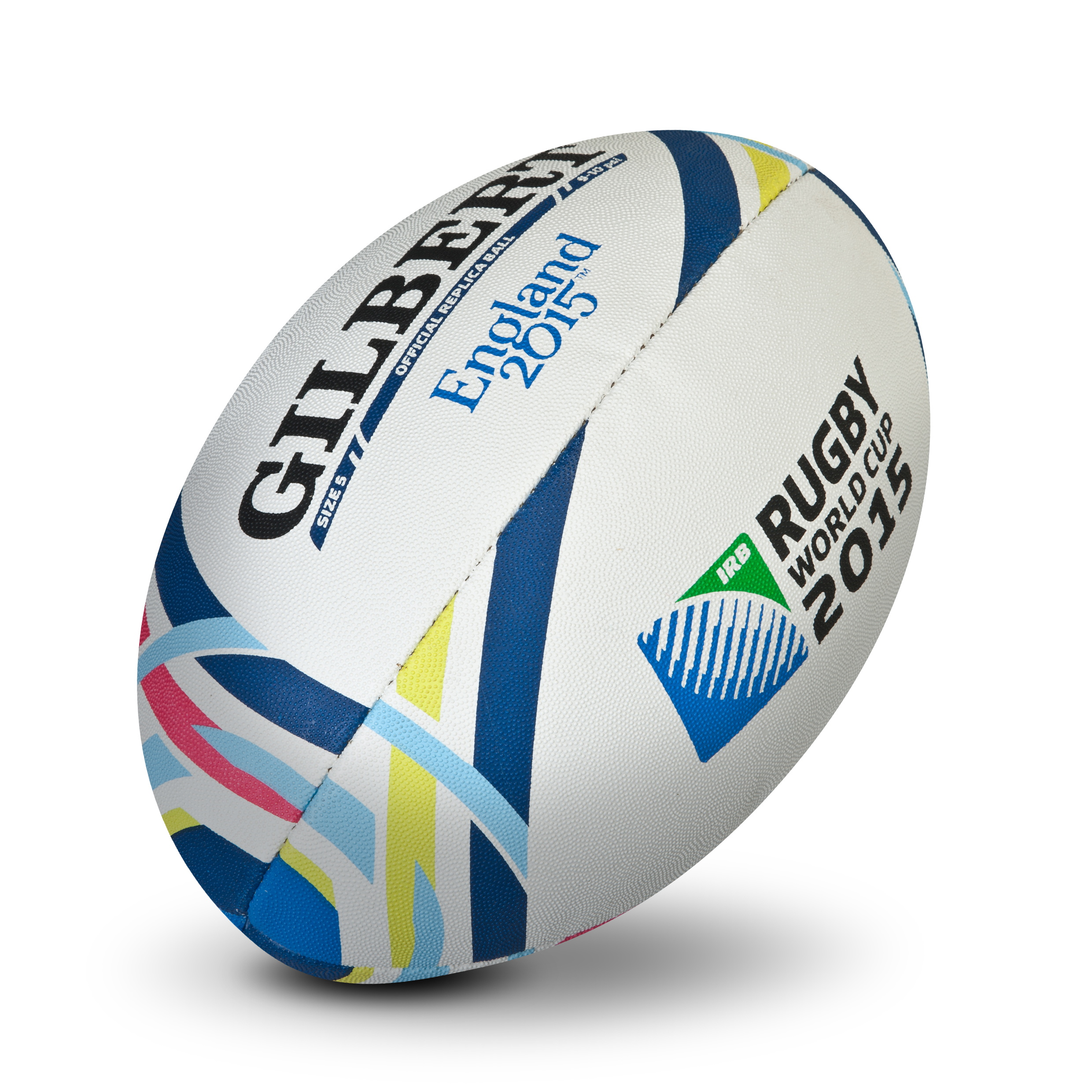 Gilbert Rugby World Cup 2015 Replica Ball White