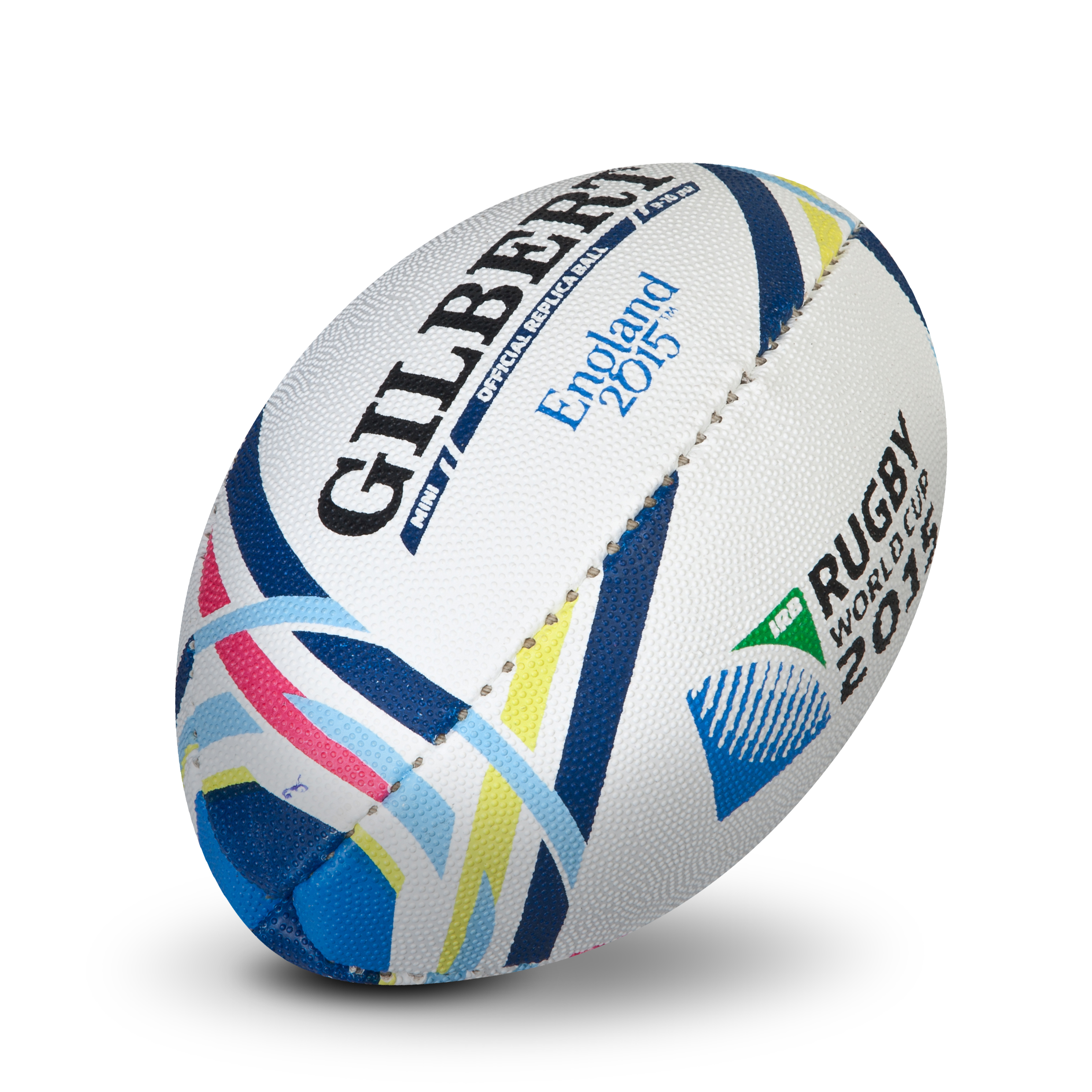 Gilbert Rugby World Cup 2015 Replica Ball - Mini White