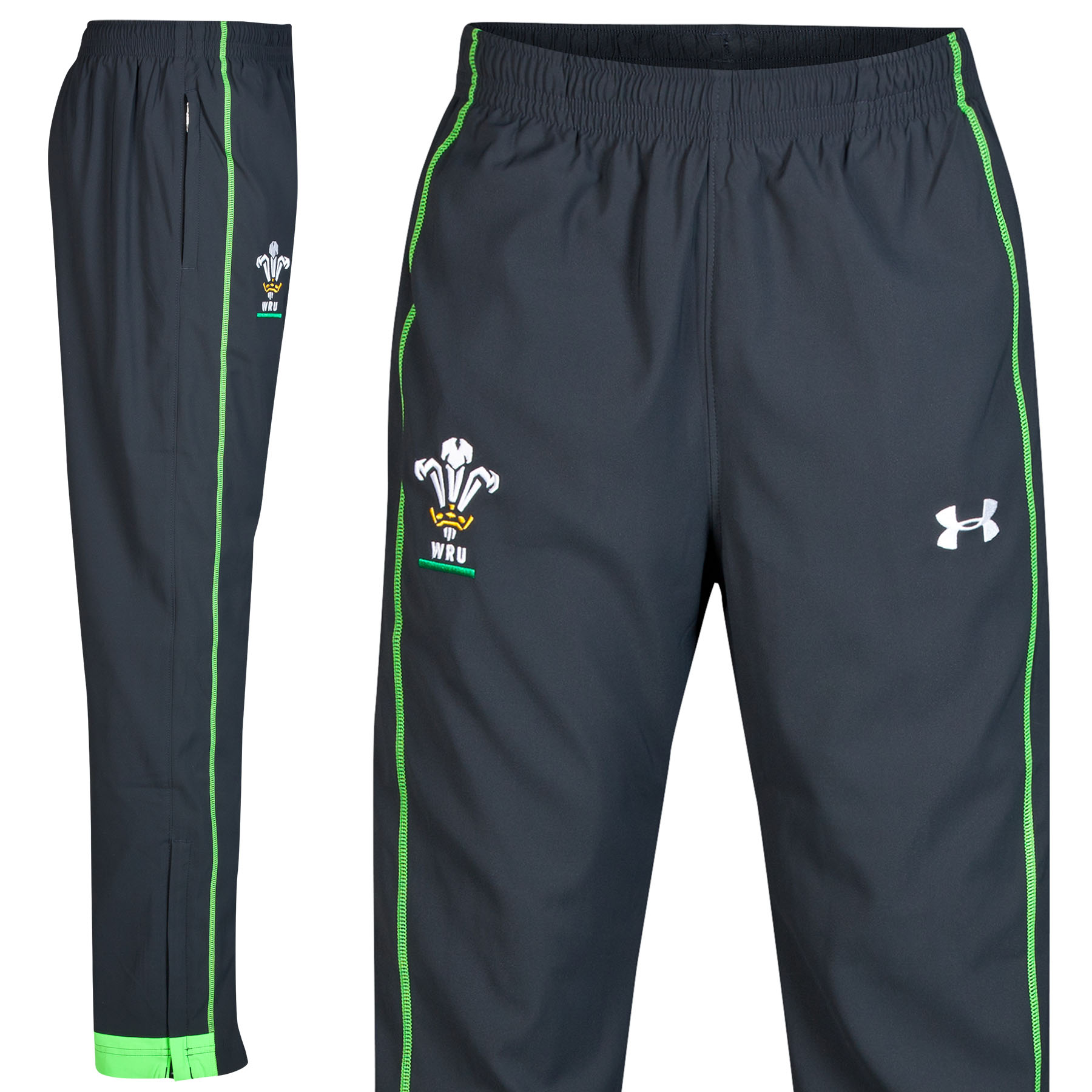 Wales Rugby Union Supporters Training Pant 2014/15 Black