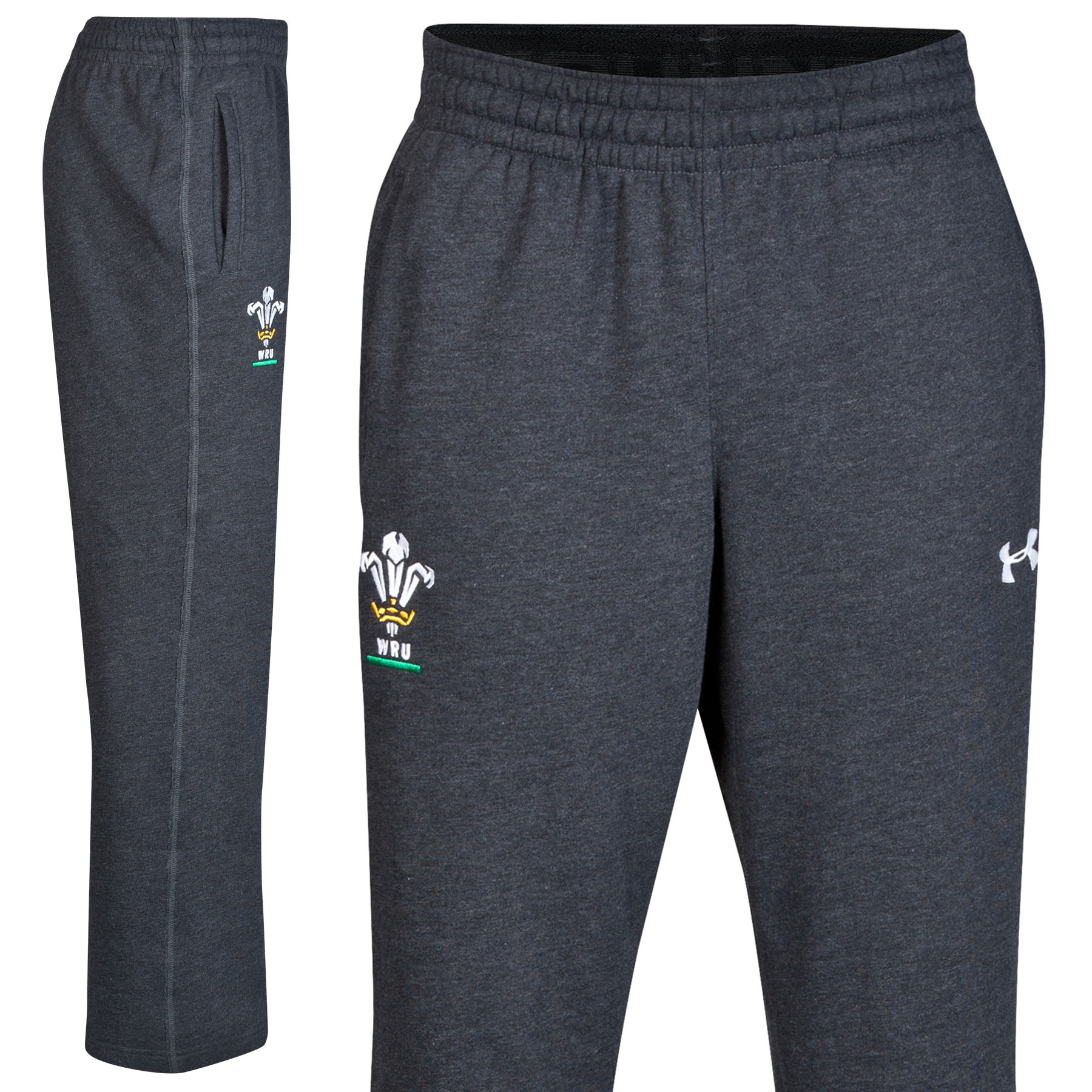 Wales Rugby Union IOF Storm Fleece Pant 2014/15 Black
