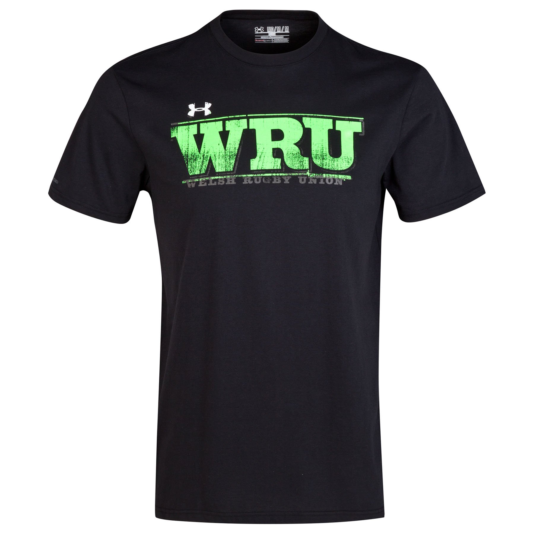 Wales Rugby Union Charged Cotton Tee 2014/15 Black