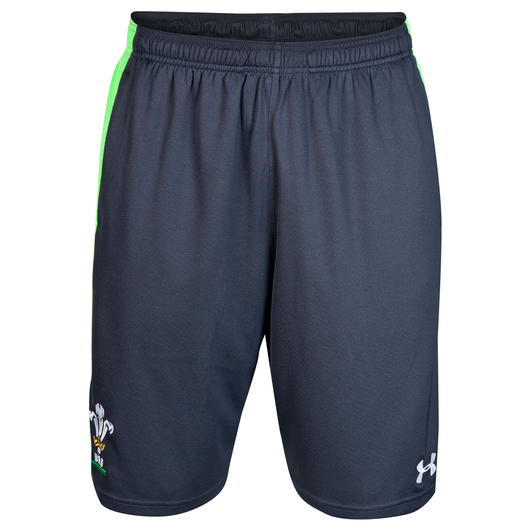Wales Rugby Union 9Inch Training Short 2014/15 Black