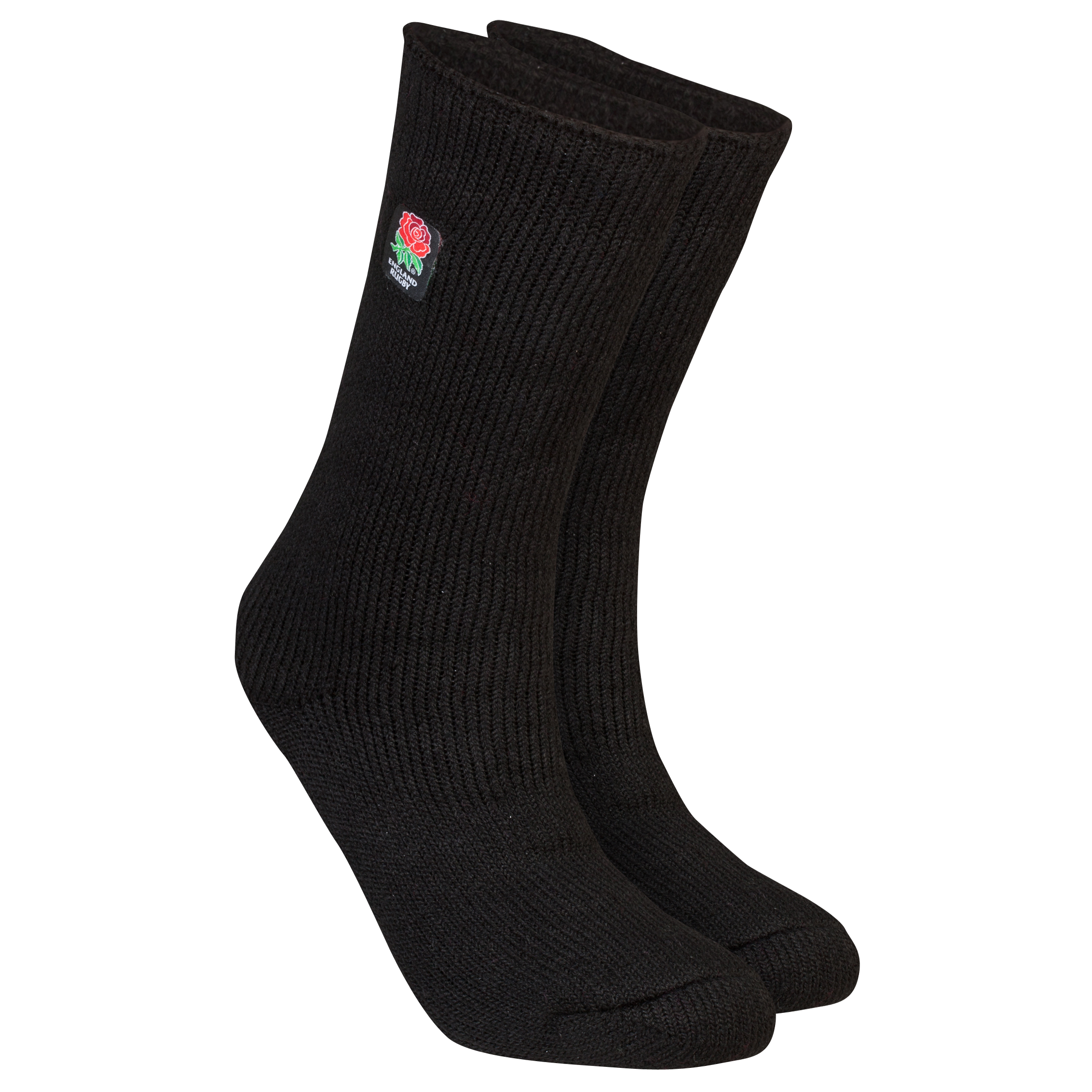 England Rugby Heat Holders Thermal Socks - Black