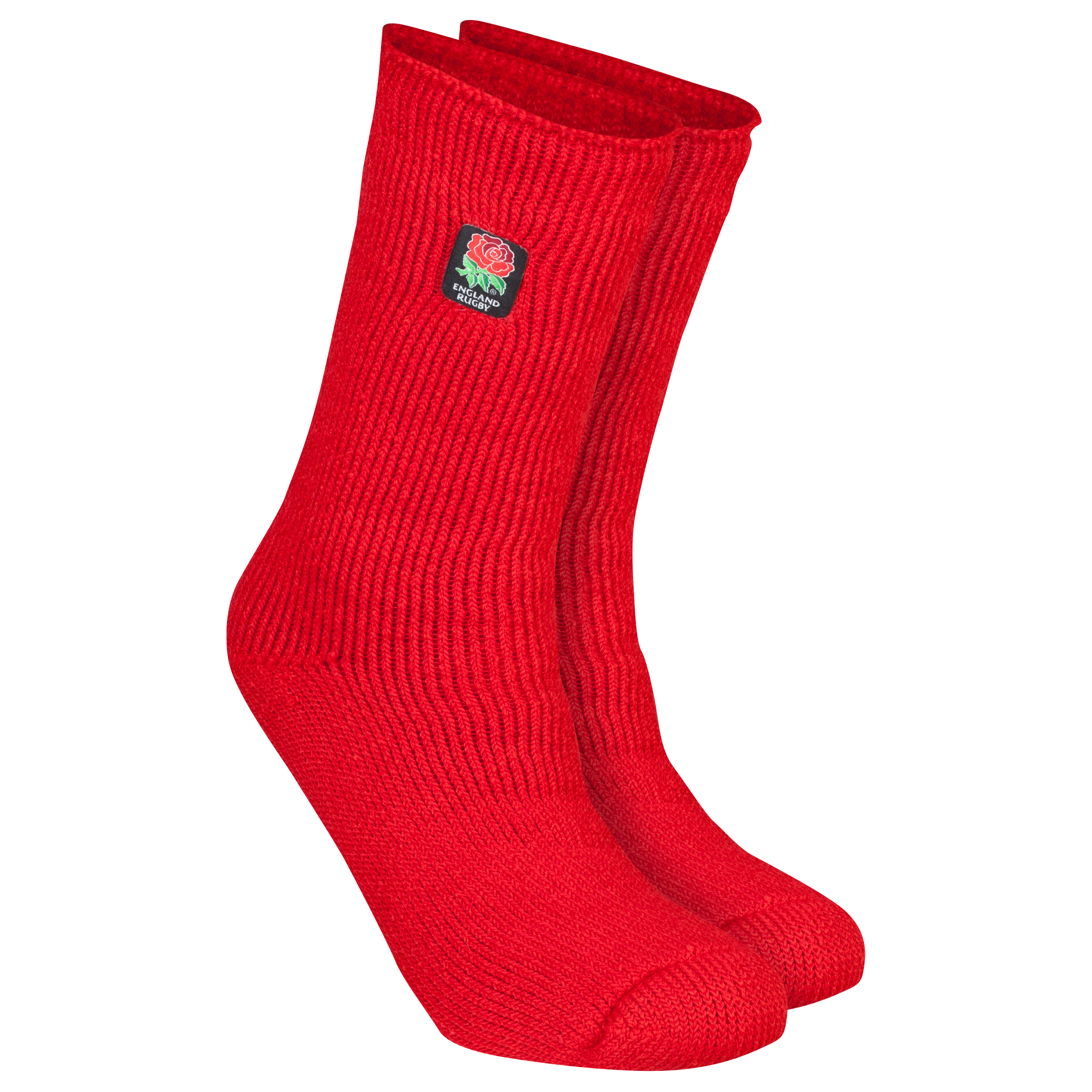 England Rugby Heat Holders Thermal Socks - Red